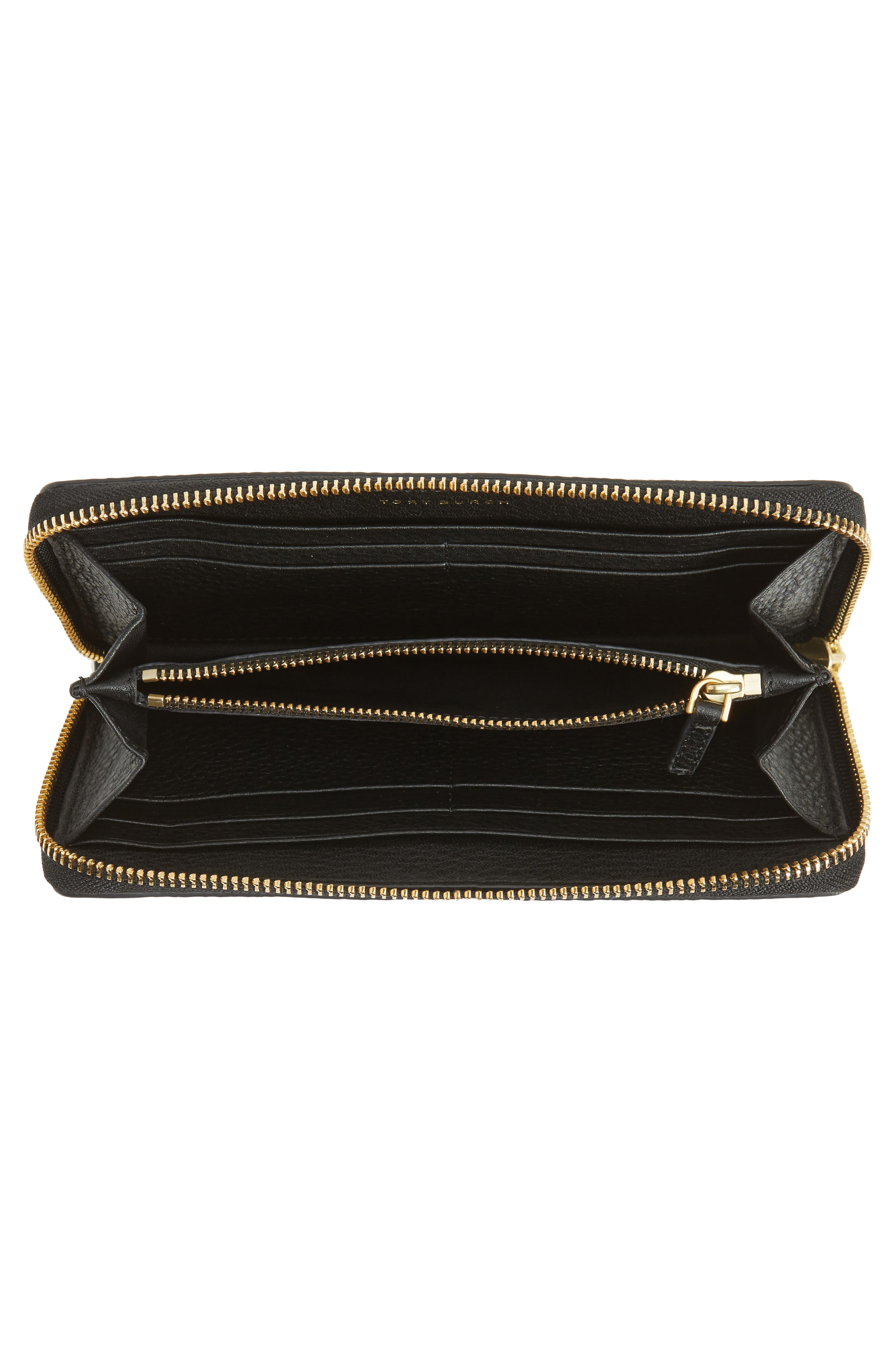 Alternate Image 2  - Tory Burch McGraw Leather Continental Zip Wallet