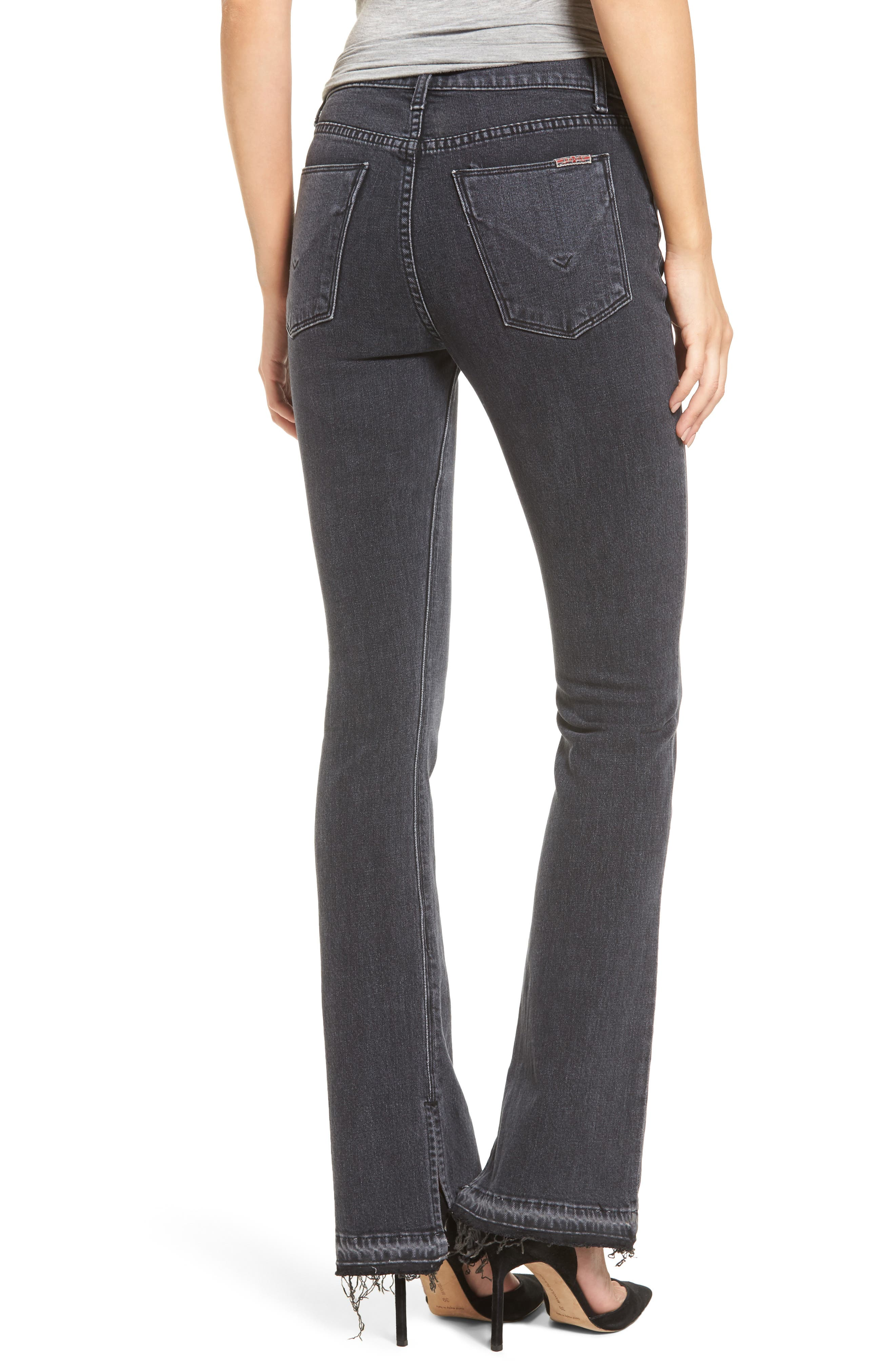 Alternate Image 2  - Hudson Jeans Heartbreaker High Waist Bootcut Jeans (Cry Later)