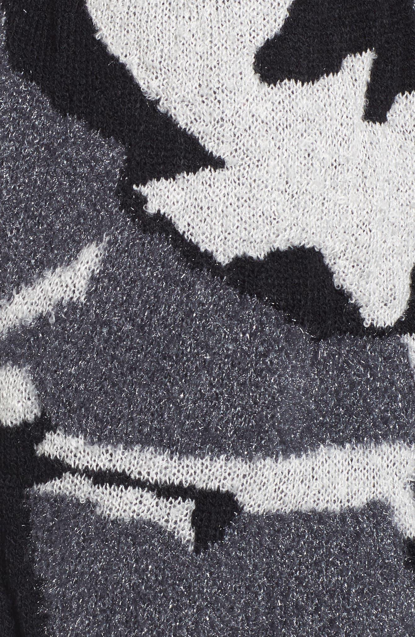 Alternate Image 5  - BP. Camouflage Knit Cardigan