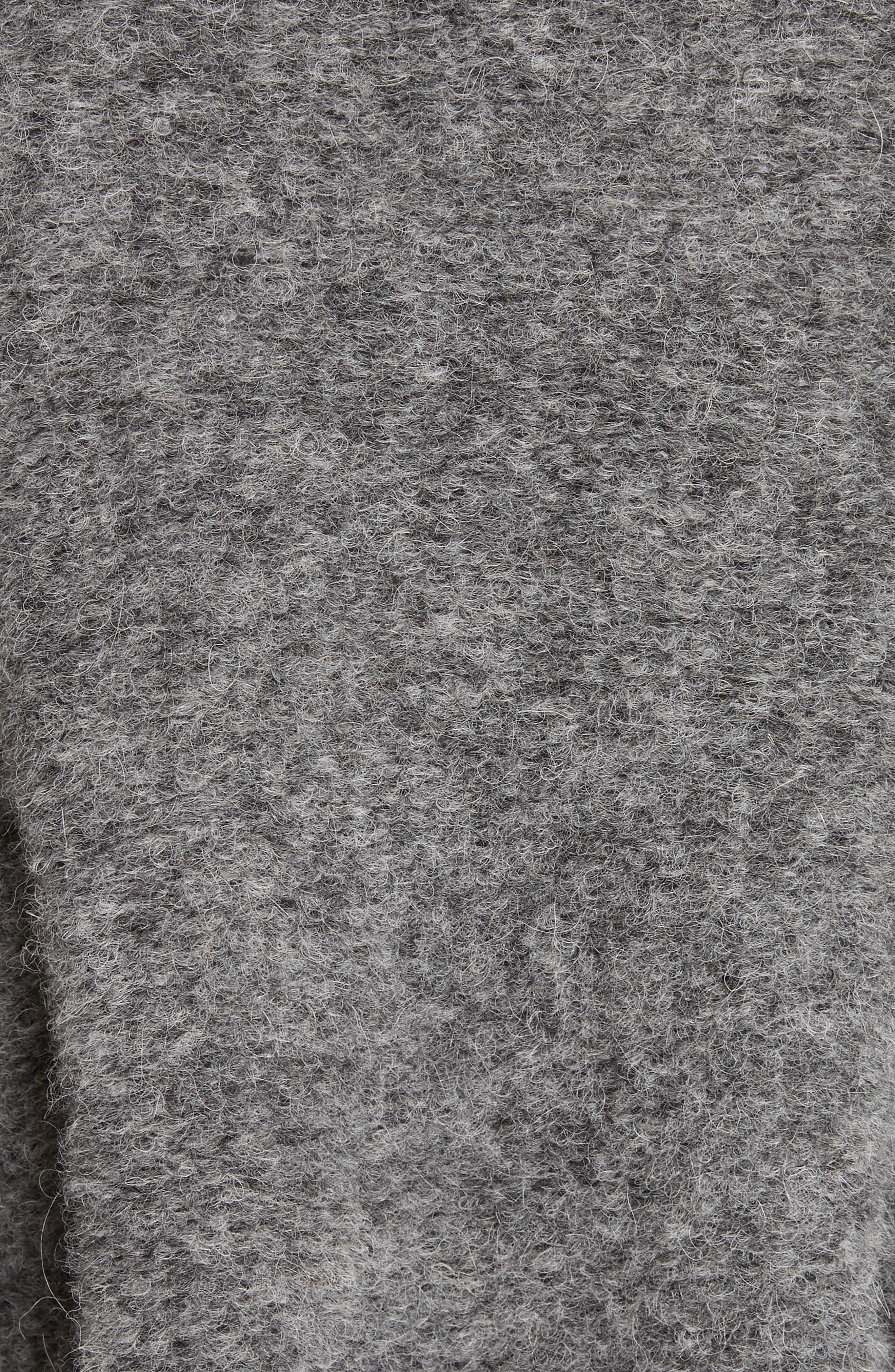 Is This What You Wanted Crop Sweater,                             Alternate thumbnail 5, color,                             Charcoal