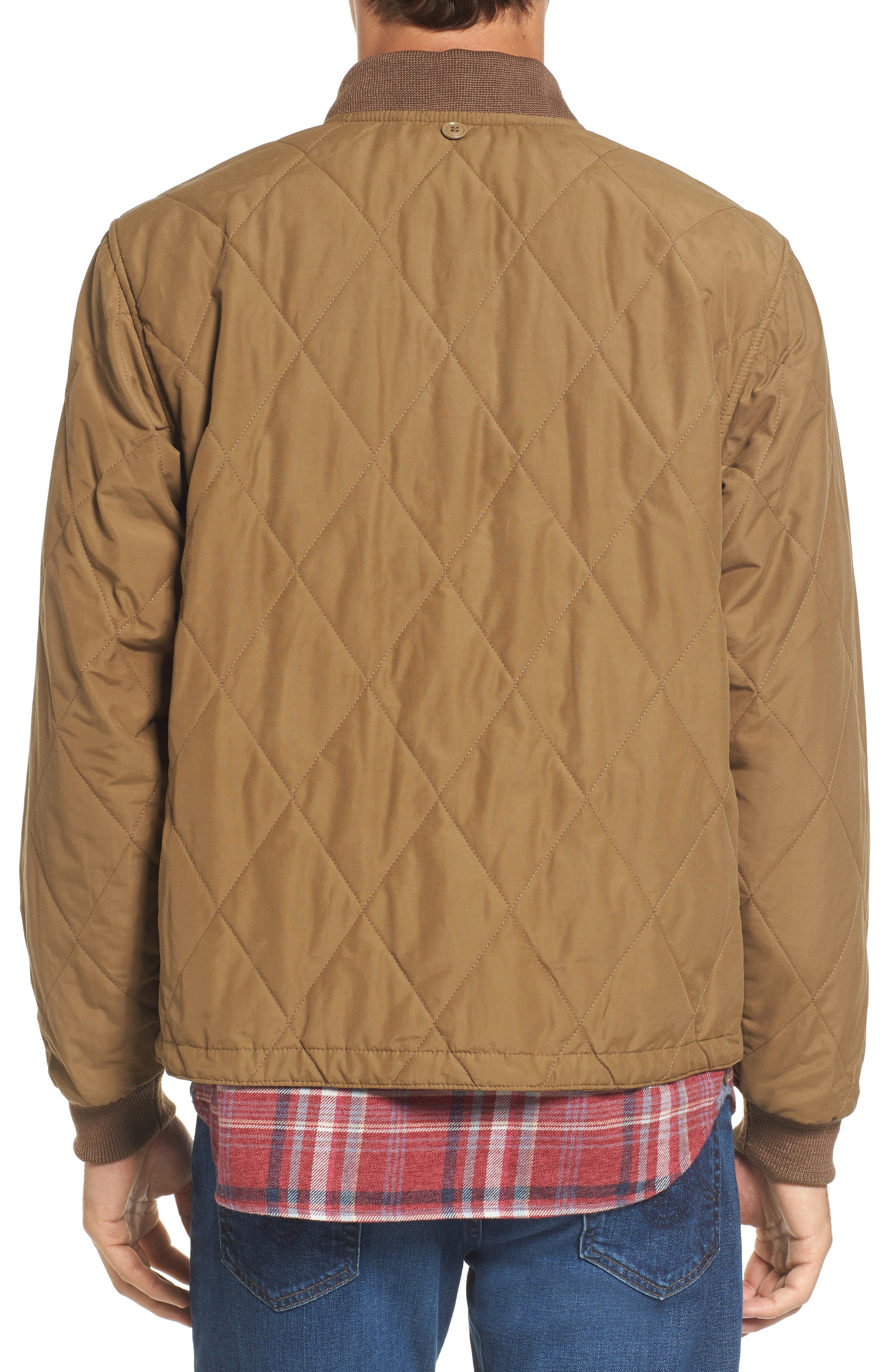 Alternate Image 2  - Filson Quilted Pack Water-Resistant Jacket