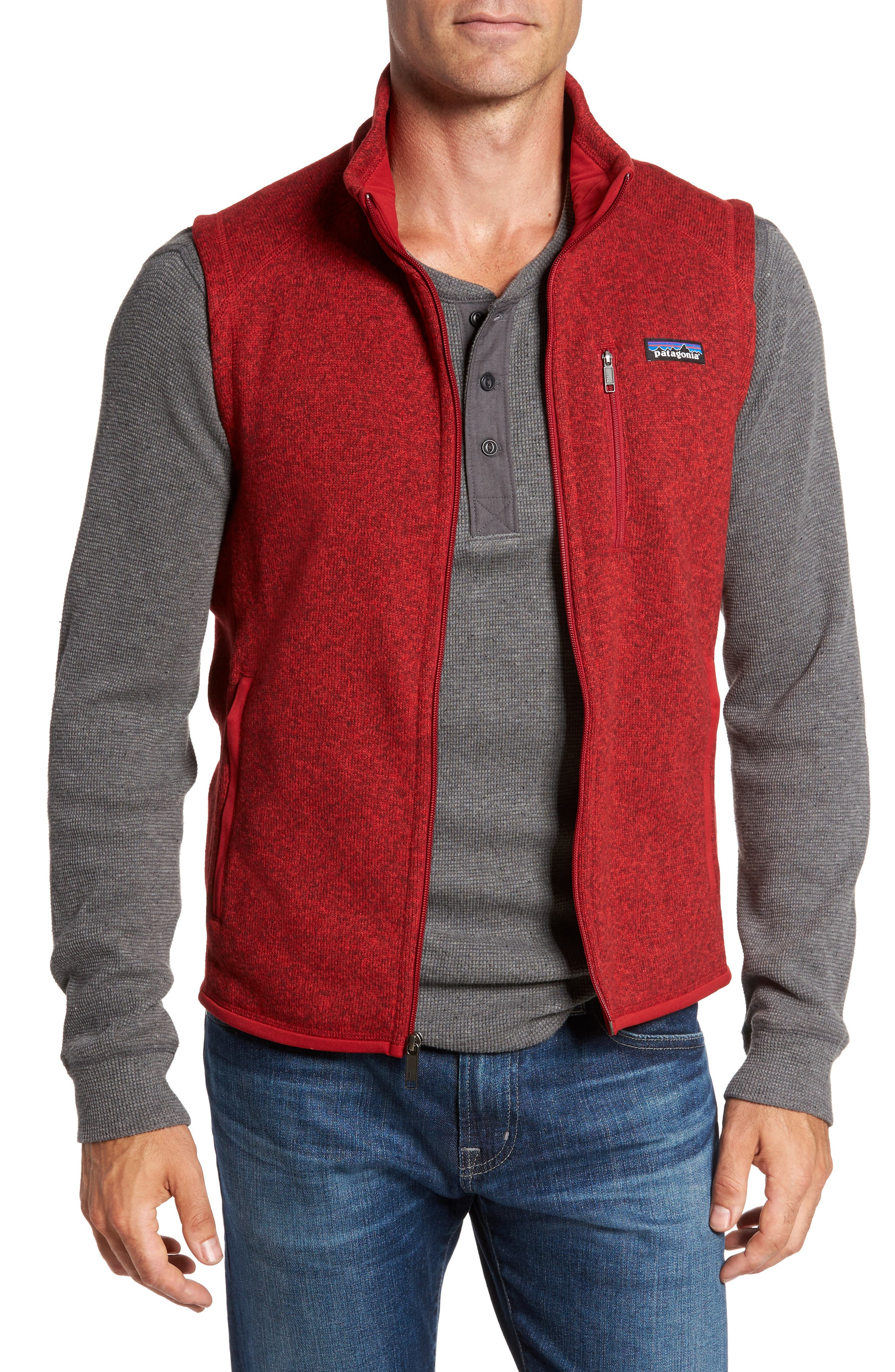 Alternate Image 1 Selected - Patagonia 'Better Sweater' Zip Front Vest