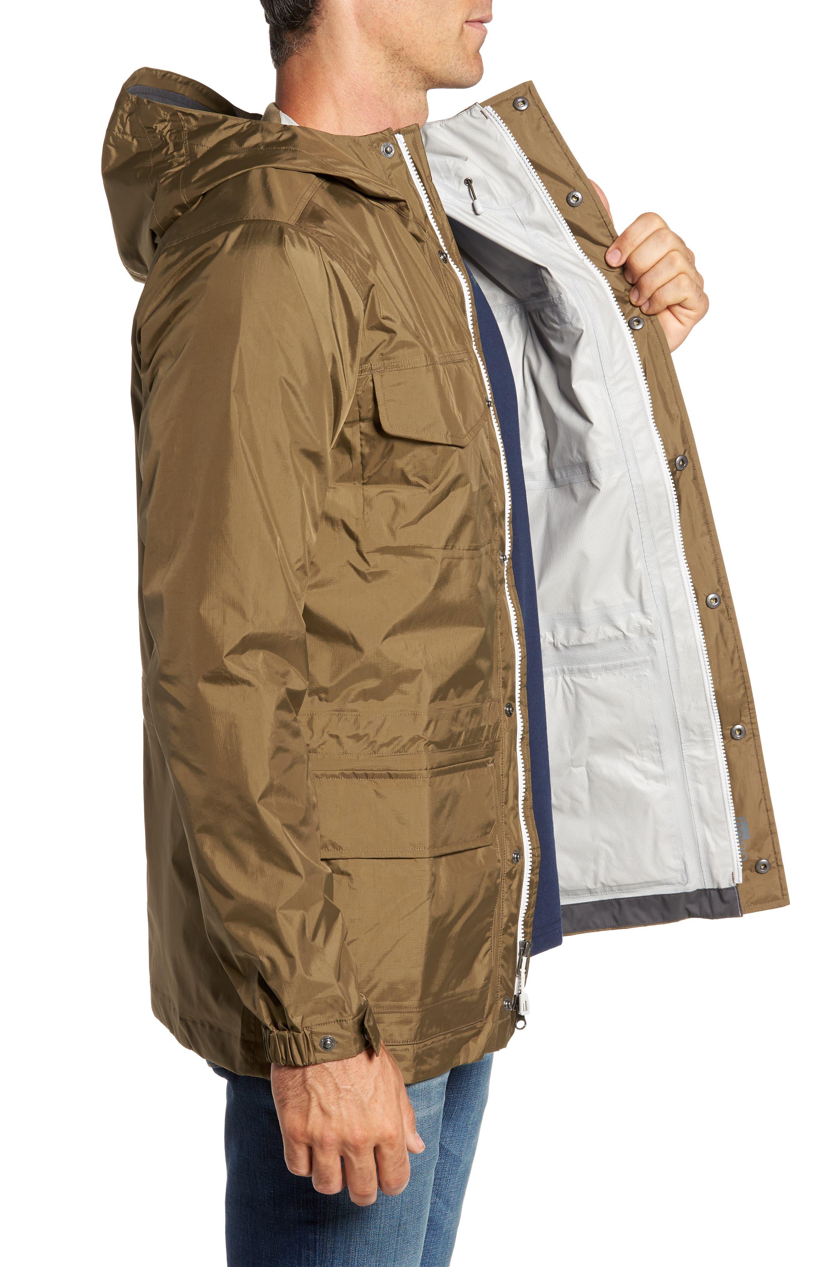 Torrentshell Waterproof Jacket,                             Alternate thumbnail 3, color,                             Dark Ash