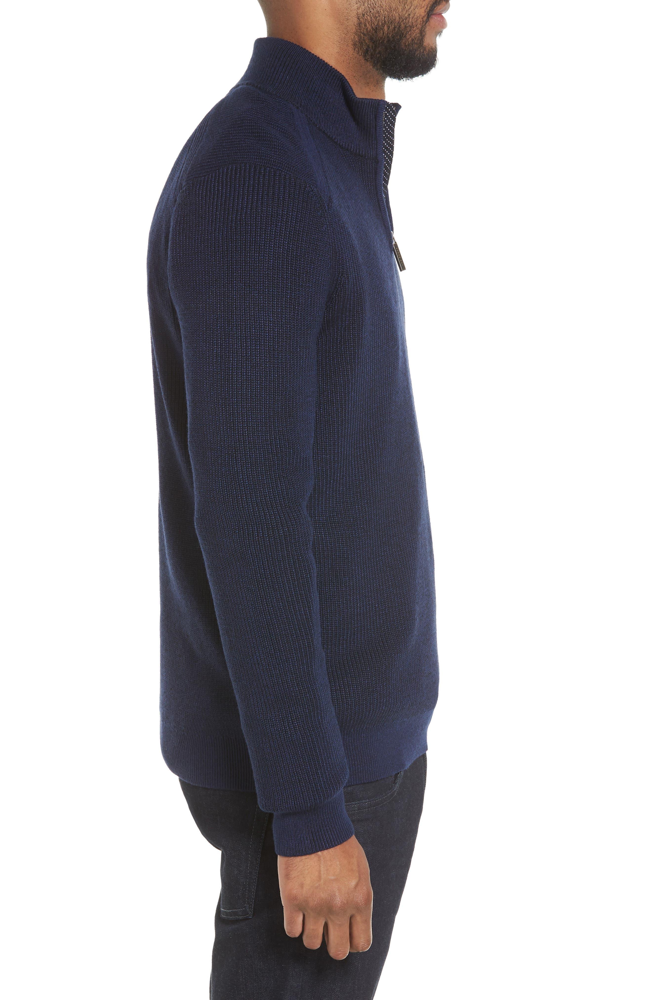 Alternate Image 3  - Ted Baker London Stach Quarter Zip Sweater