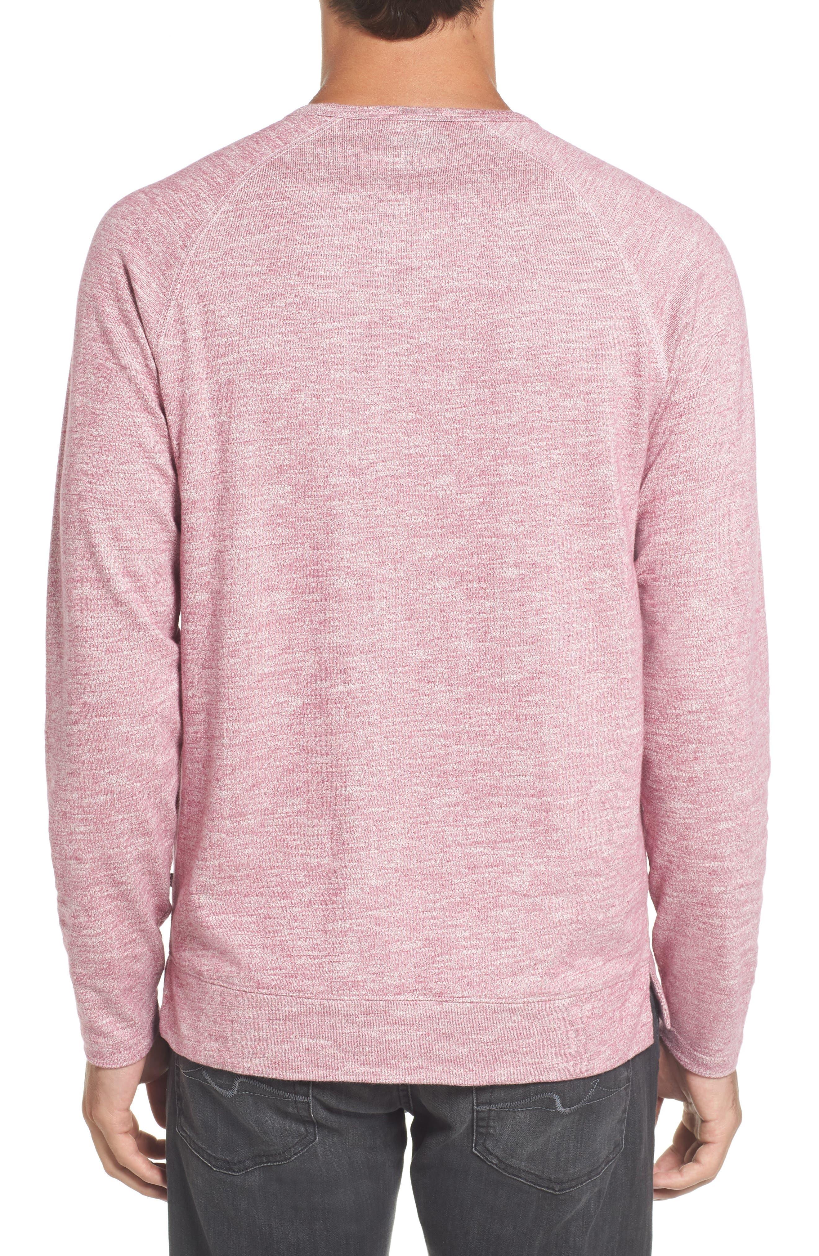 Slim Fit Stripe T-Shirt,                             Alternate thumbnail 2, color,                             Heather Berry