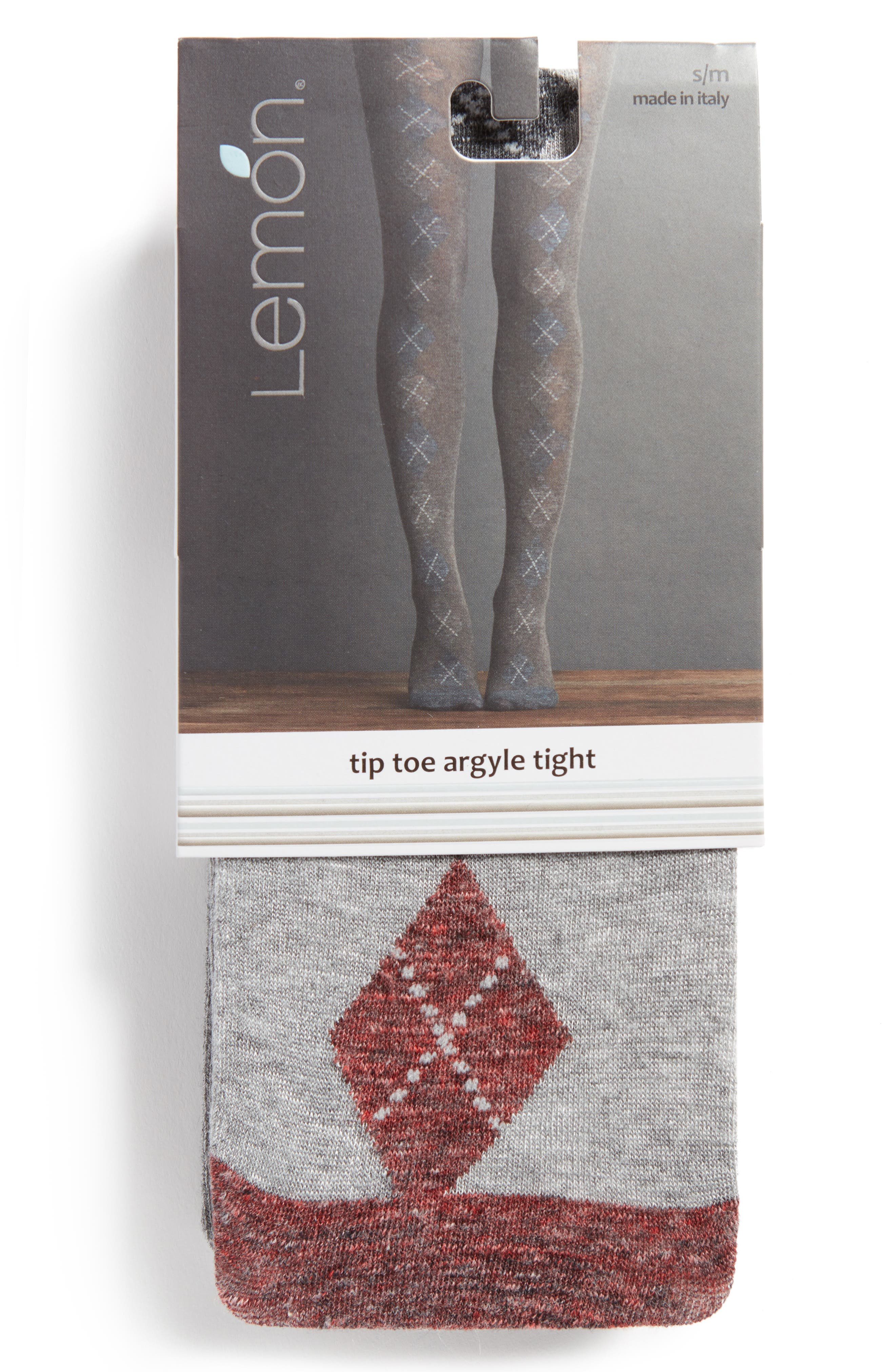 Tip Toe Argyle Tights,                             Alternate thumbnail 2, color,                             Oxford