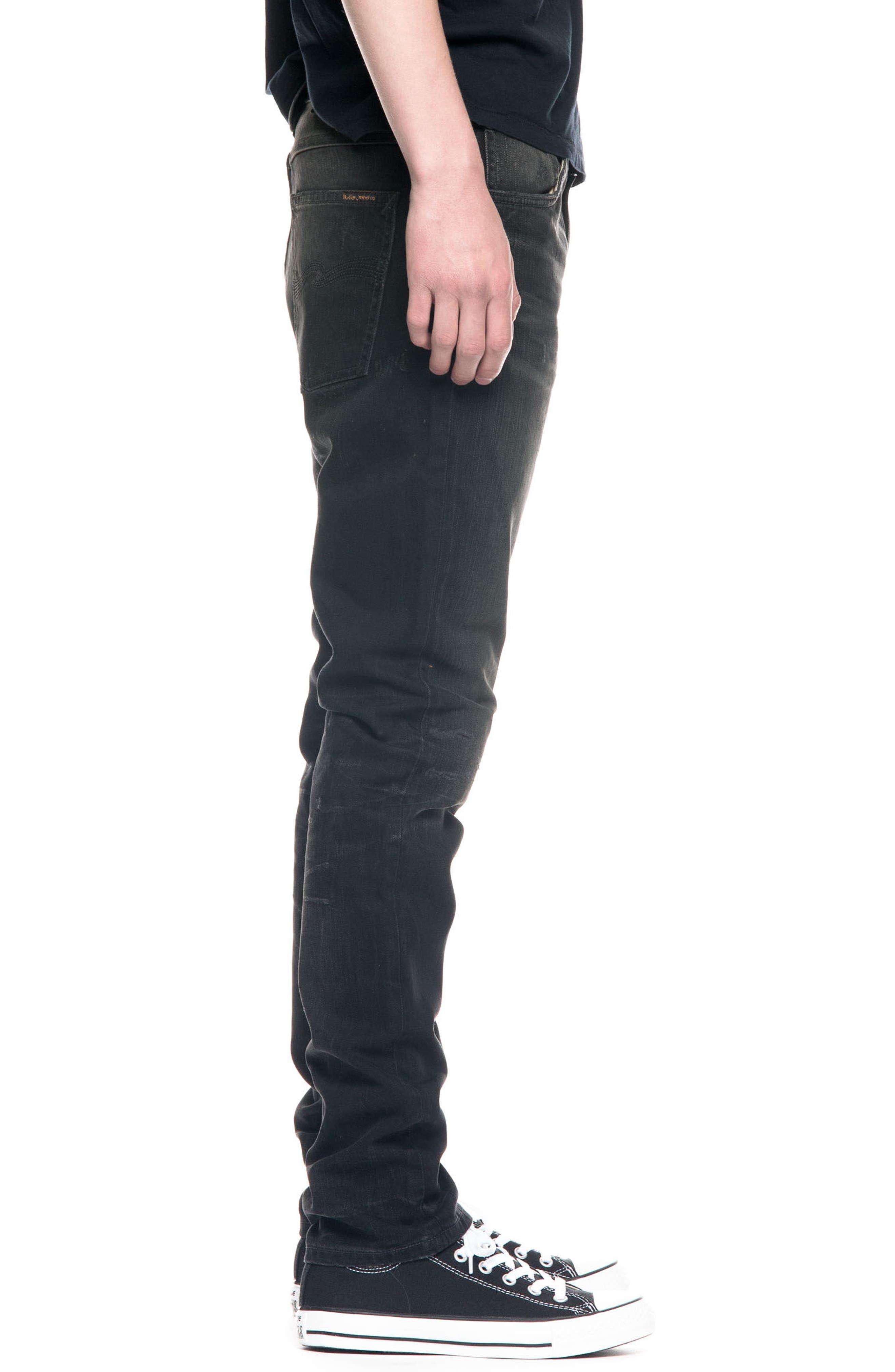 Alternate Image 3  - Nudie Jeans Lean Dean Slouchy Slim Fit Jeans (Johan Replica)