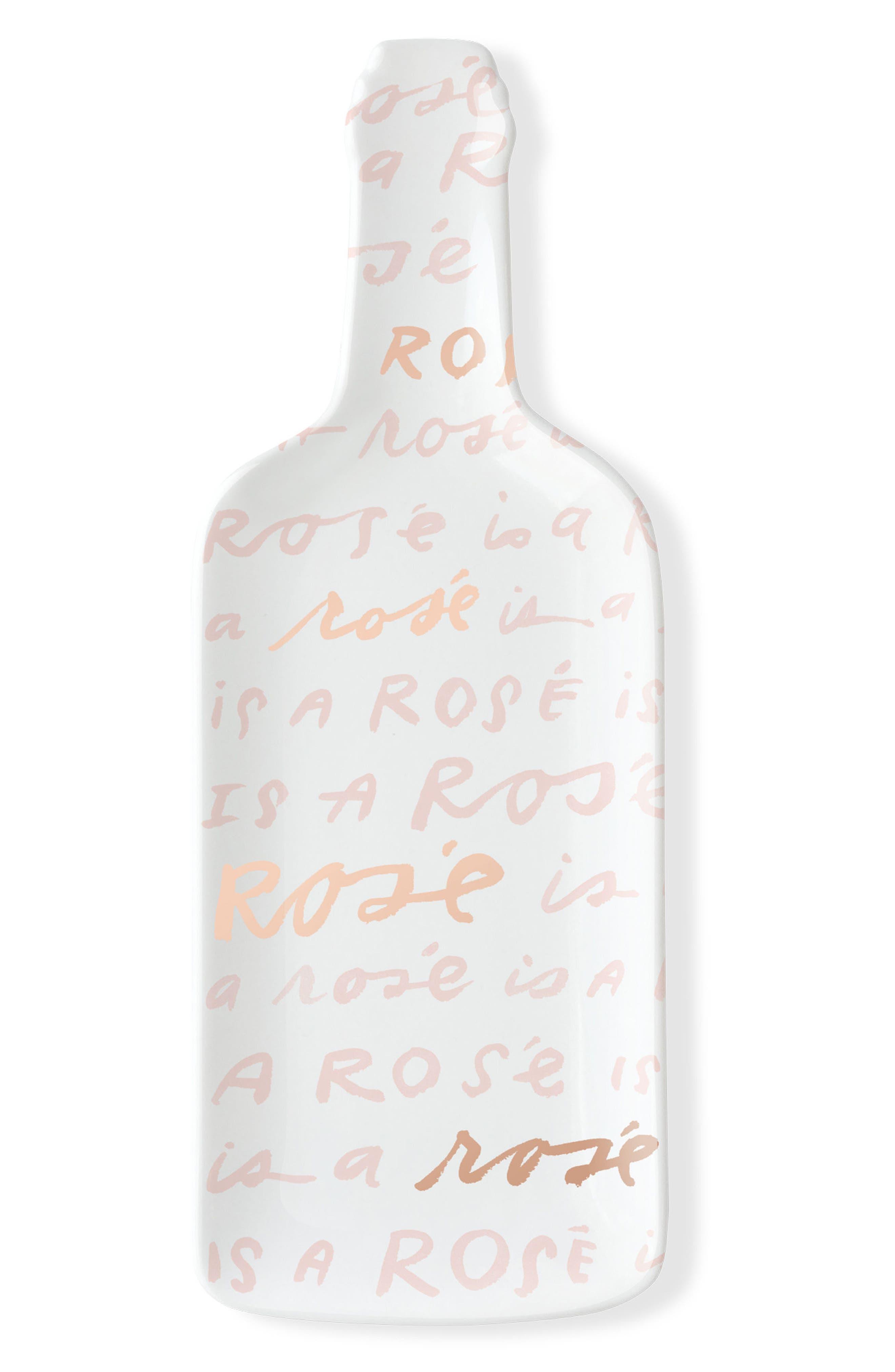 Fringe Studio Rosé is a Rosé Ceramic Appetizer Tray