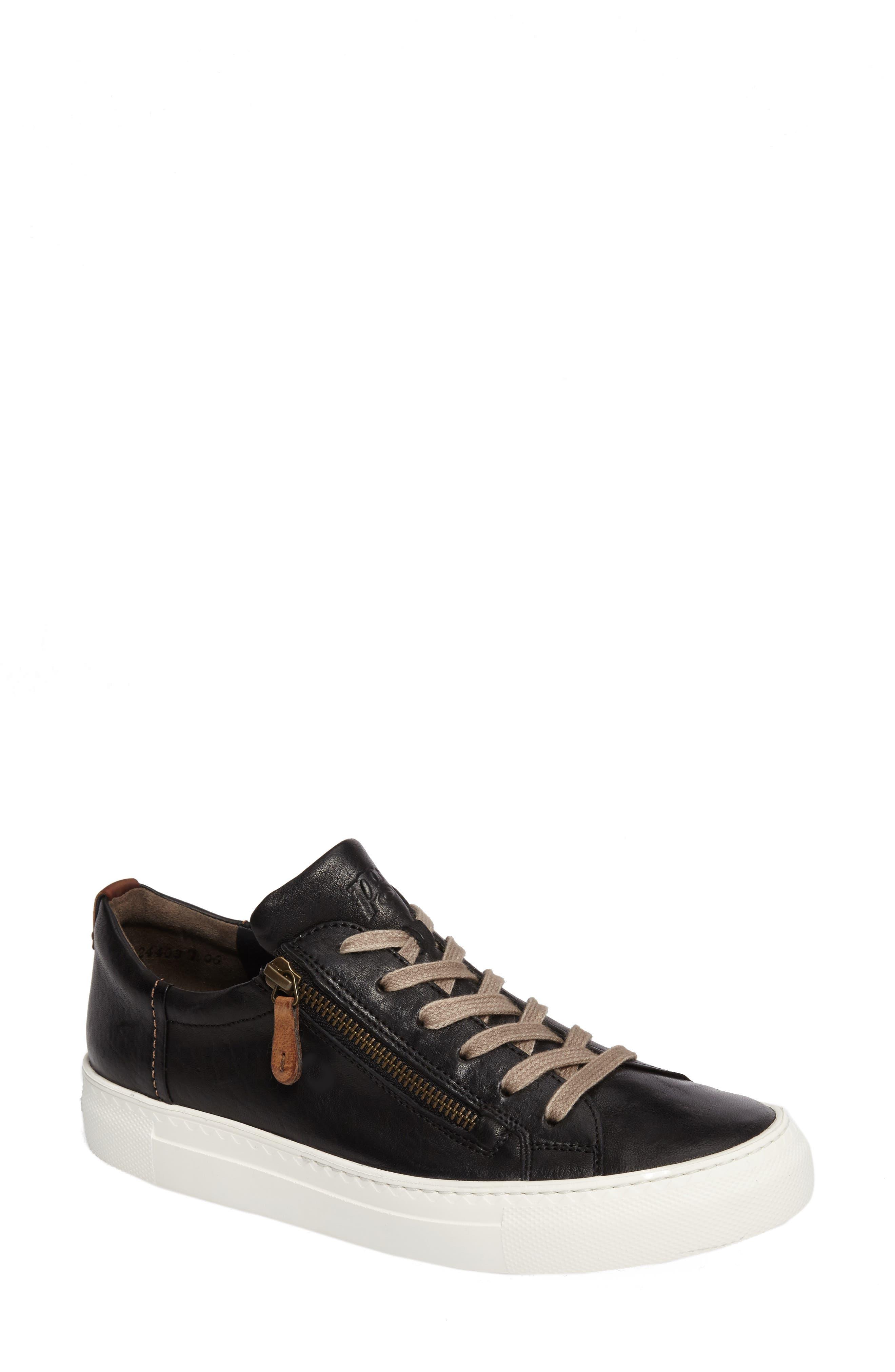 Paul Green Side Zip Sneaker (Women)