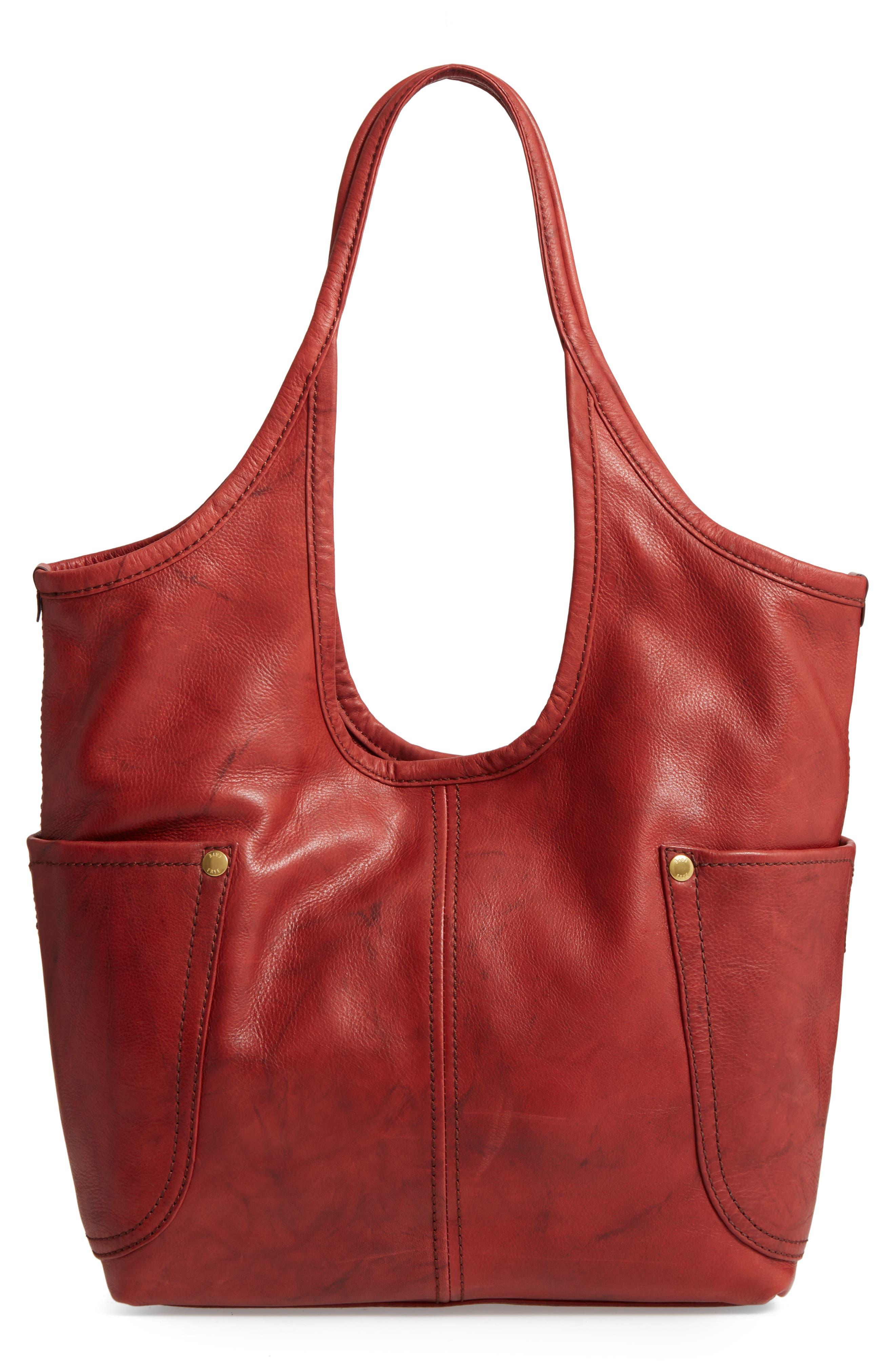 Frye Campus Rivet Leather Shoulder Bag