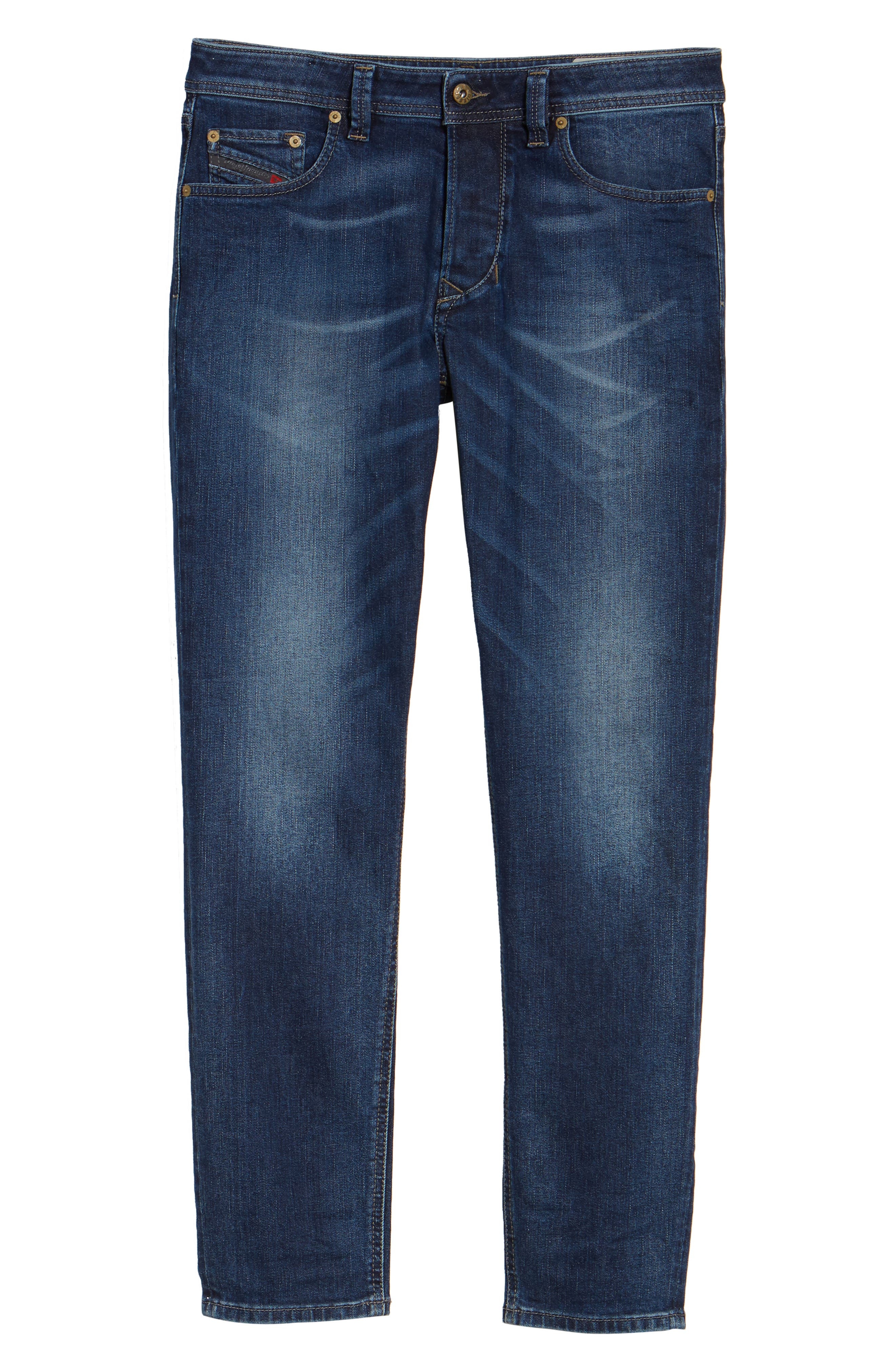 Alternate Image 6  - DIESEL® Larkee-Beex Relaxed Fit Jeans