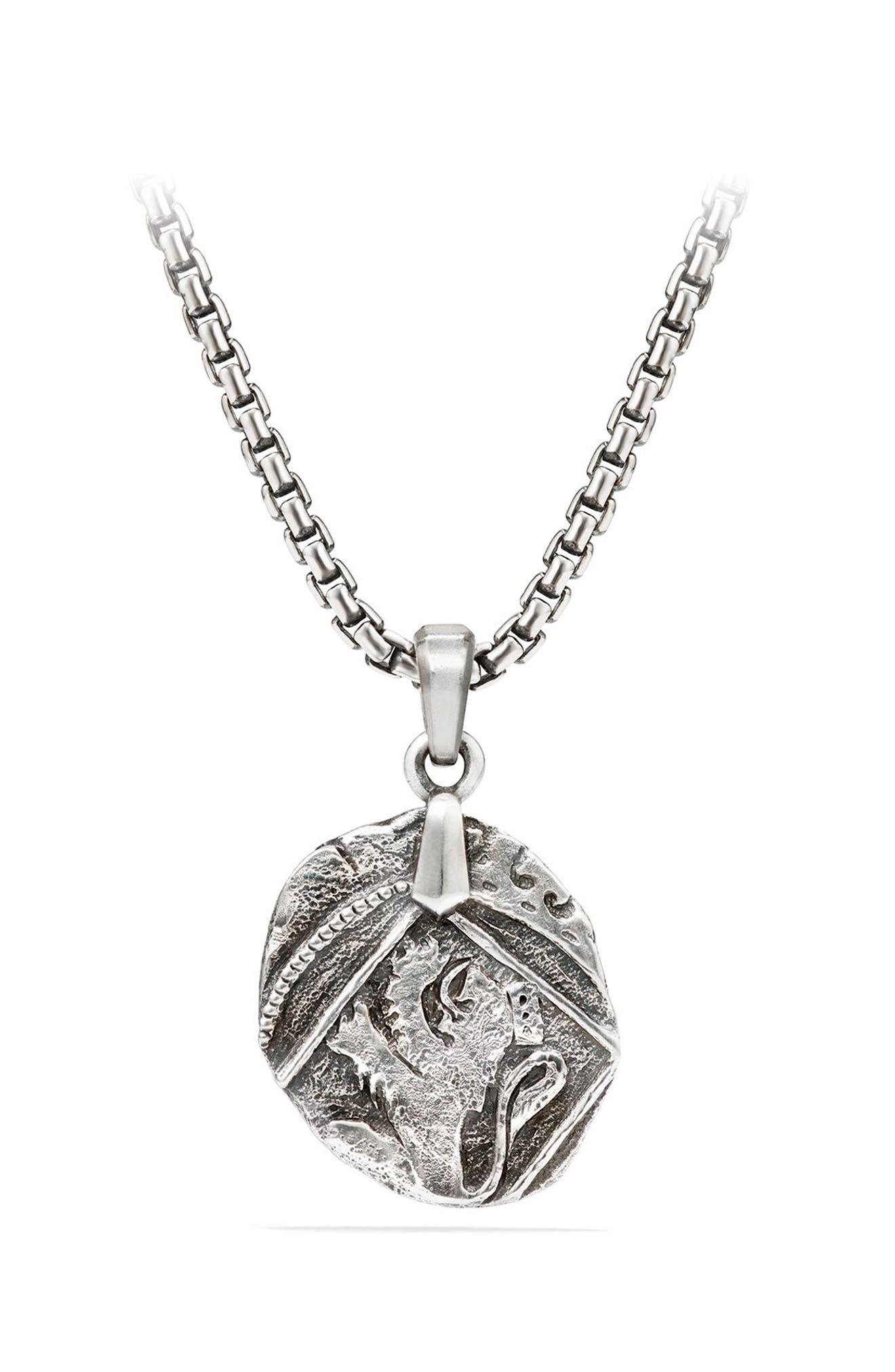 David Yurman Shipwreck Coin Amulet, 23mm
