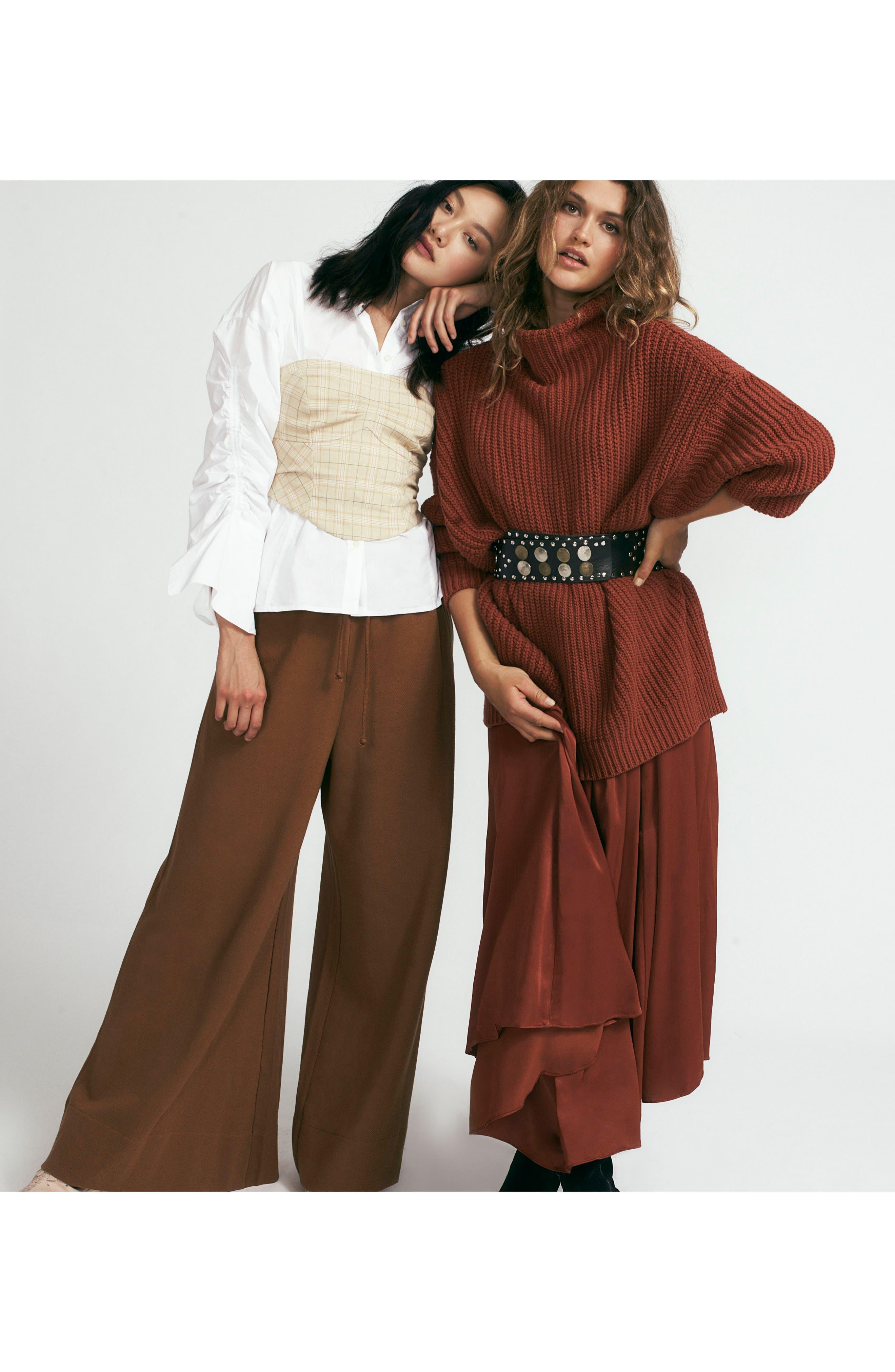 Alternate Image 2  - Free People Strangelove Flare Sweatpants