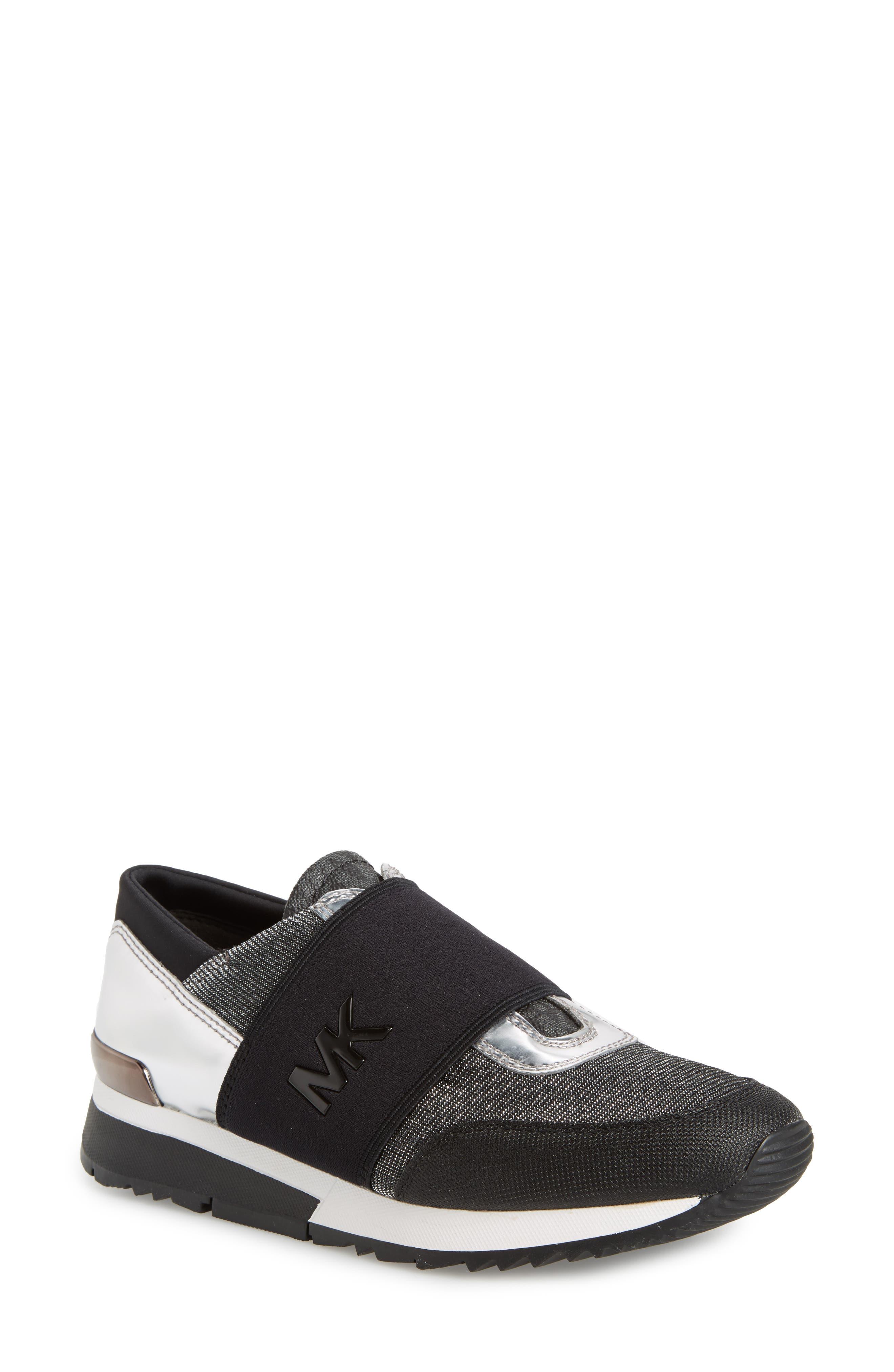 Slip-On Sneaker,                         Main,                         color, Black