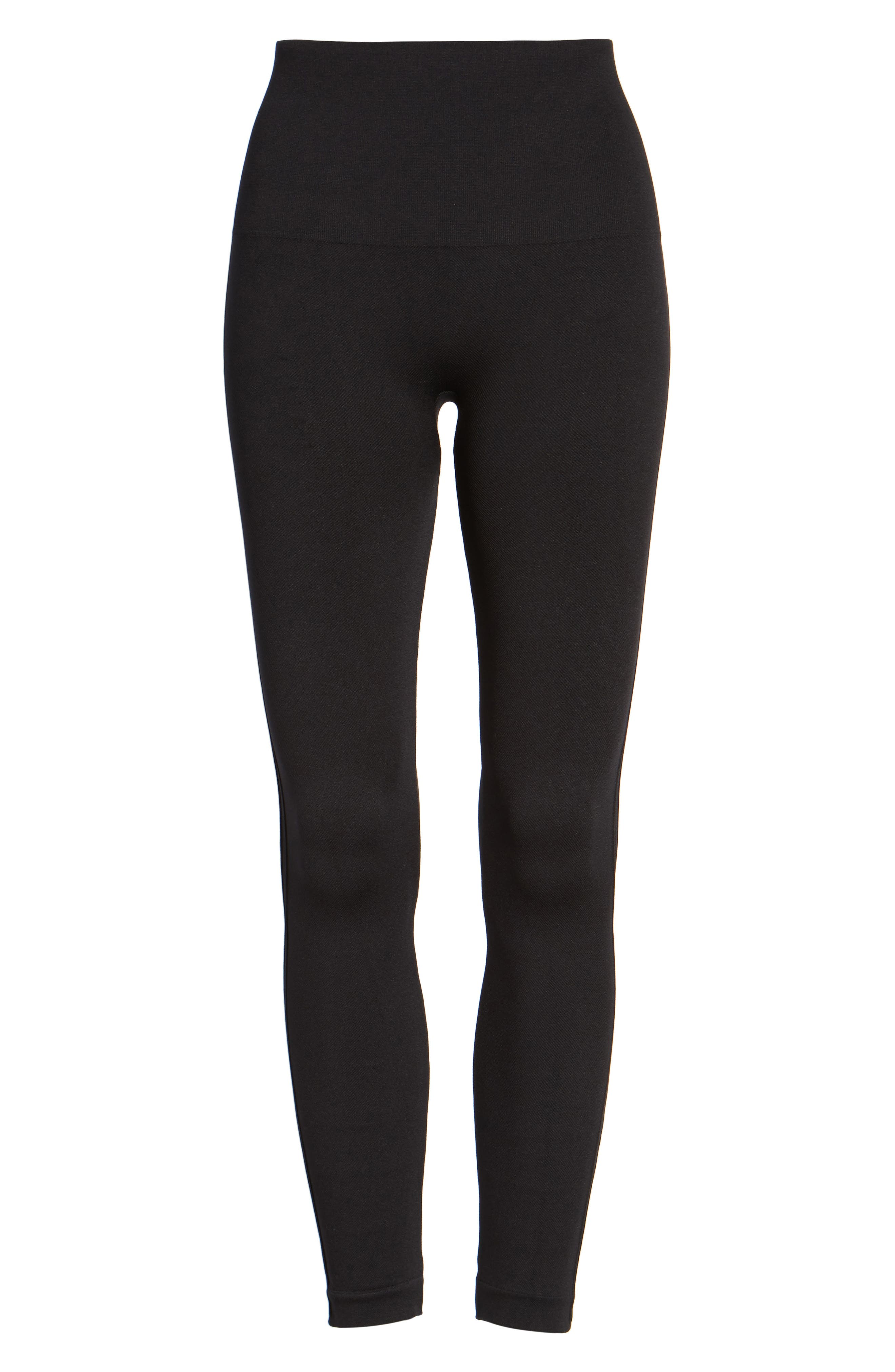 Alternate Image 4  - SPANX® Look at Me Now' Seamless Leggings