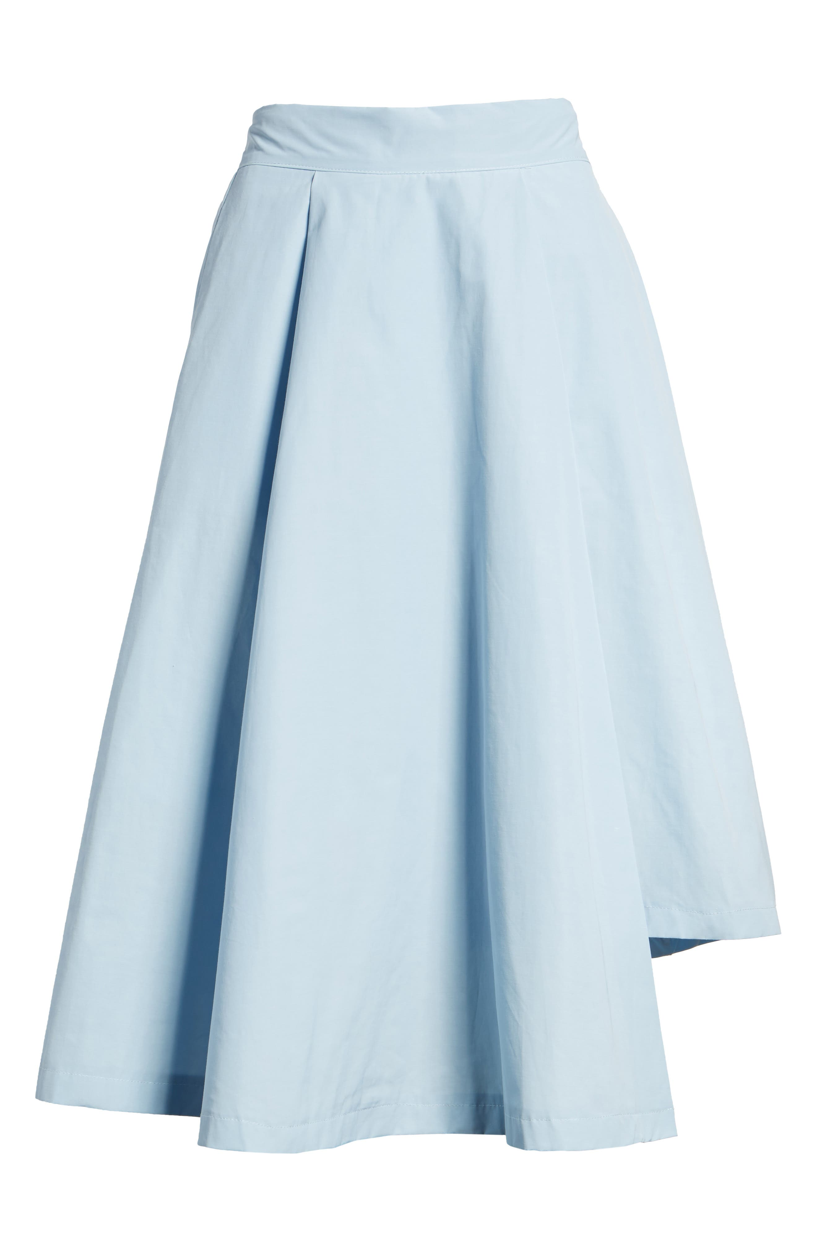 Alternate Image 6  - J.O.A. Step Hem Skirt