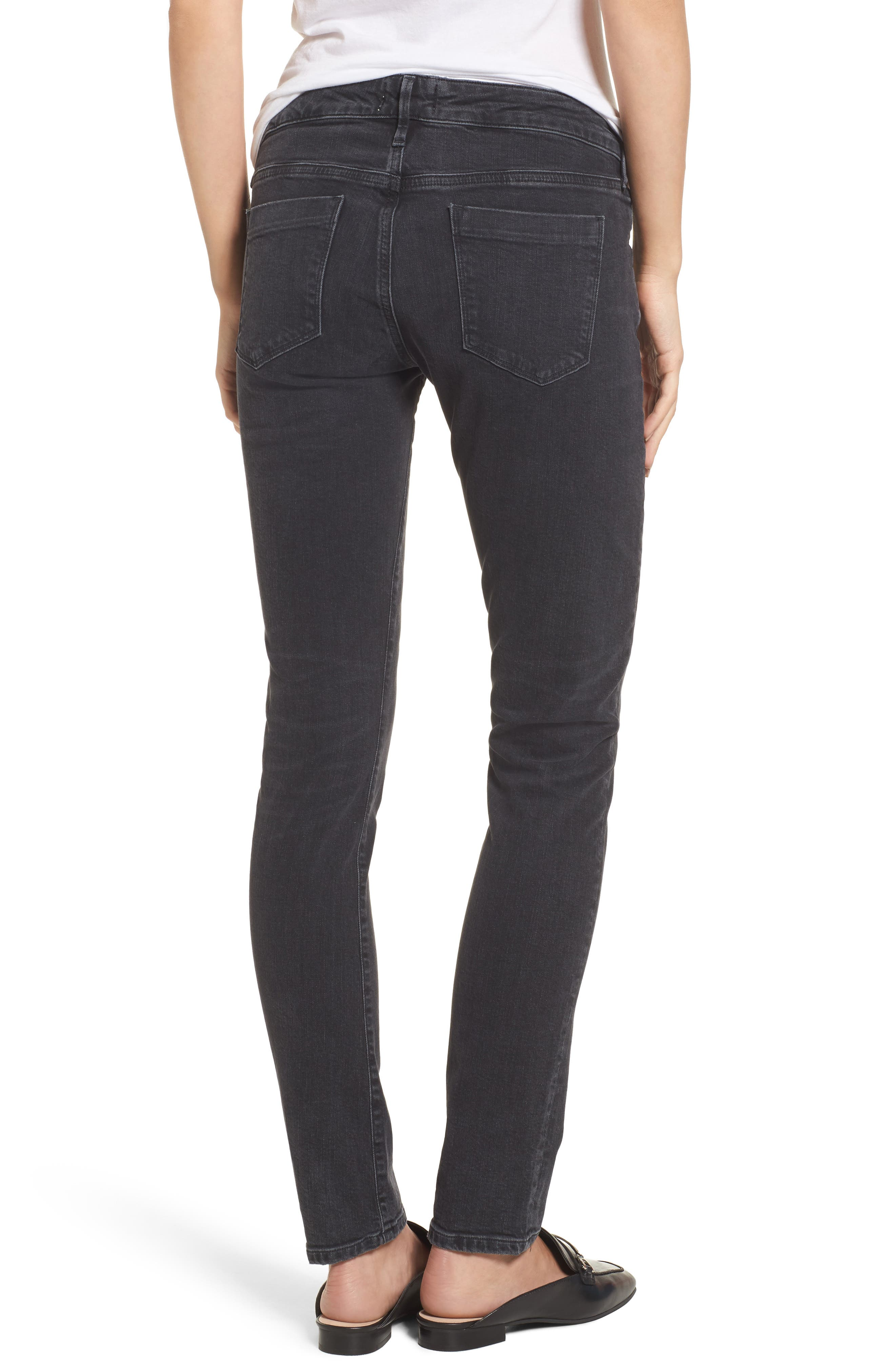 Chloe Low Rise Slim Jeans,                             Alternate thumbnail 2, color,                             Chelsea