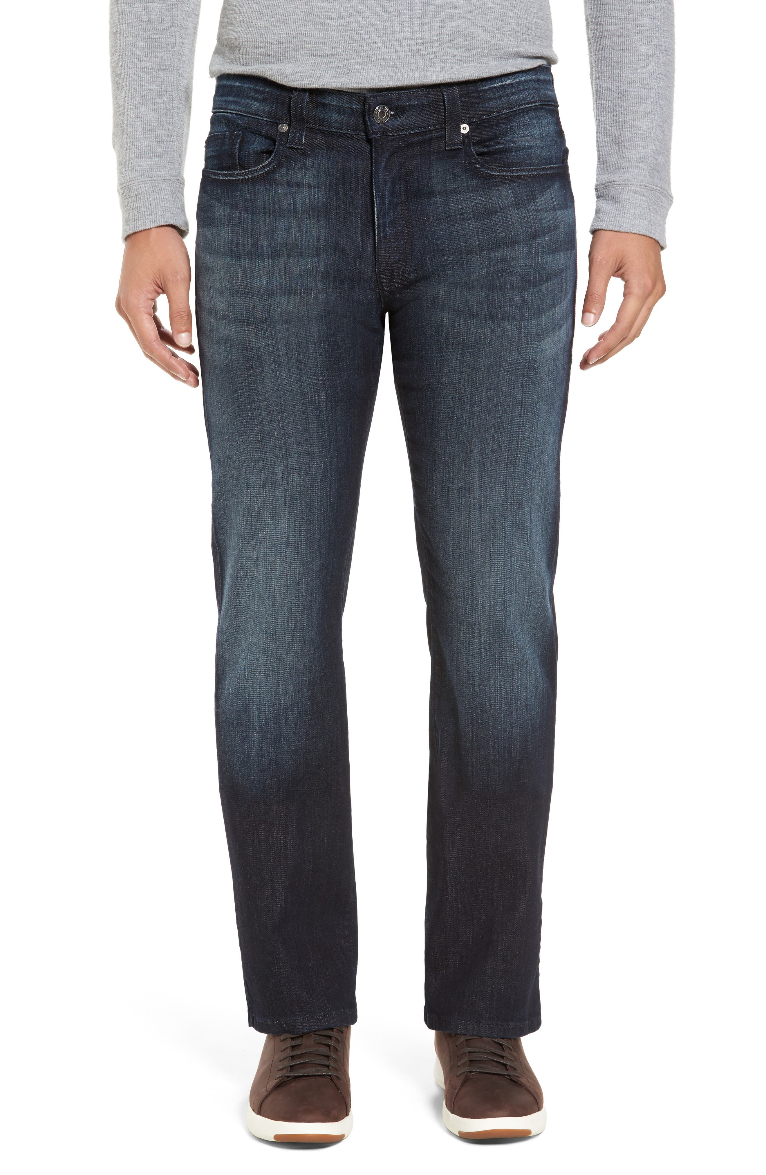 Alternate Image 1 Selected - Fidelity Denim 5011 Relaxed Fit Jeans (Brooklyn Blue)