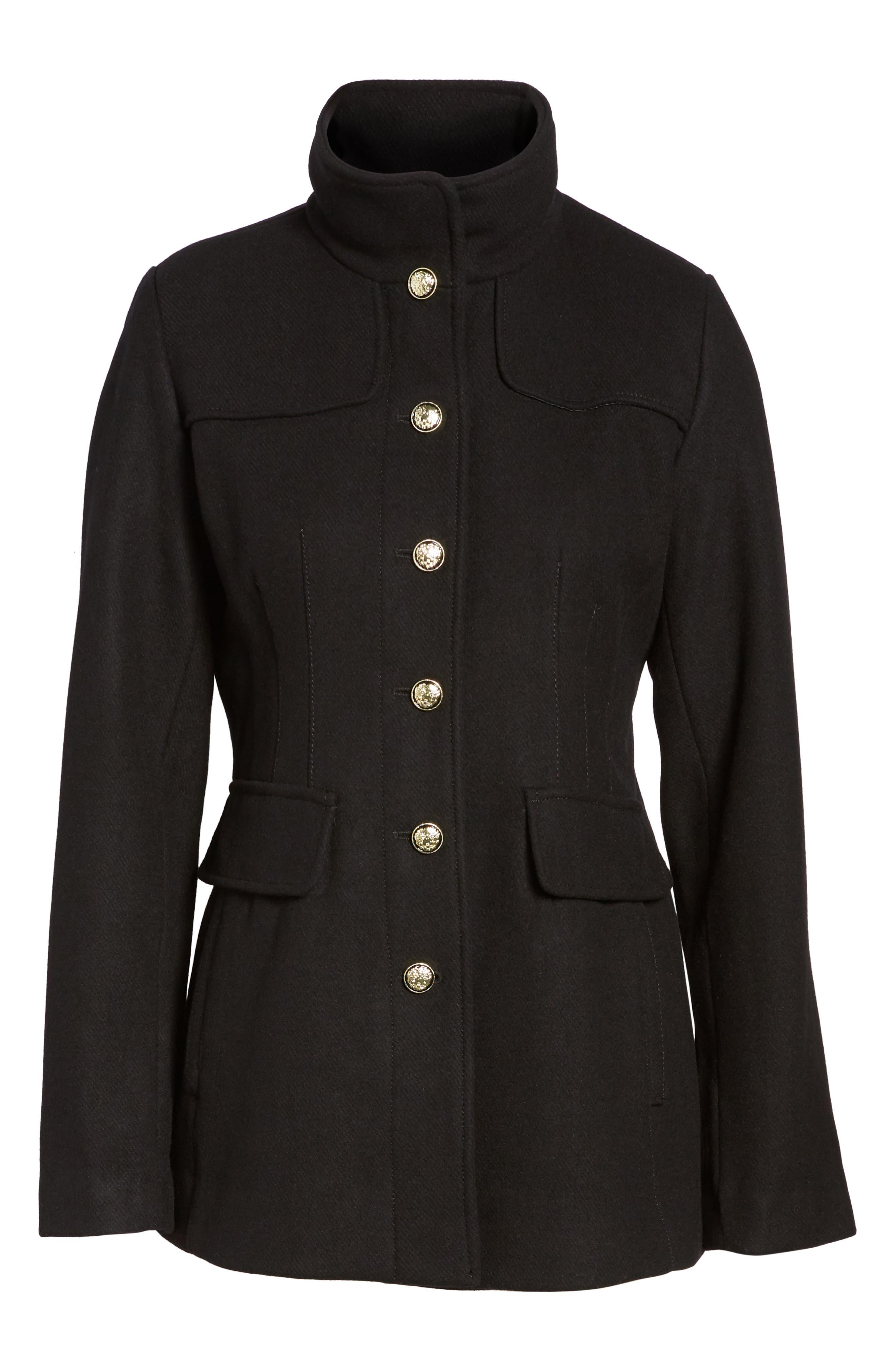 Alternate Image 6  - Vince Camuto Wool Blend Coat