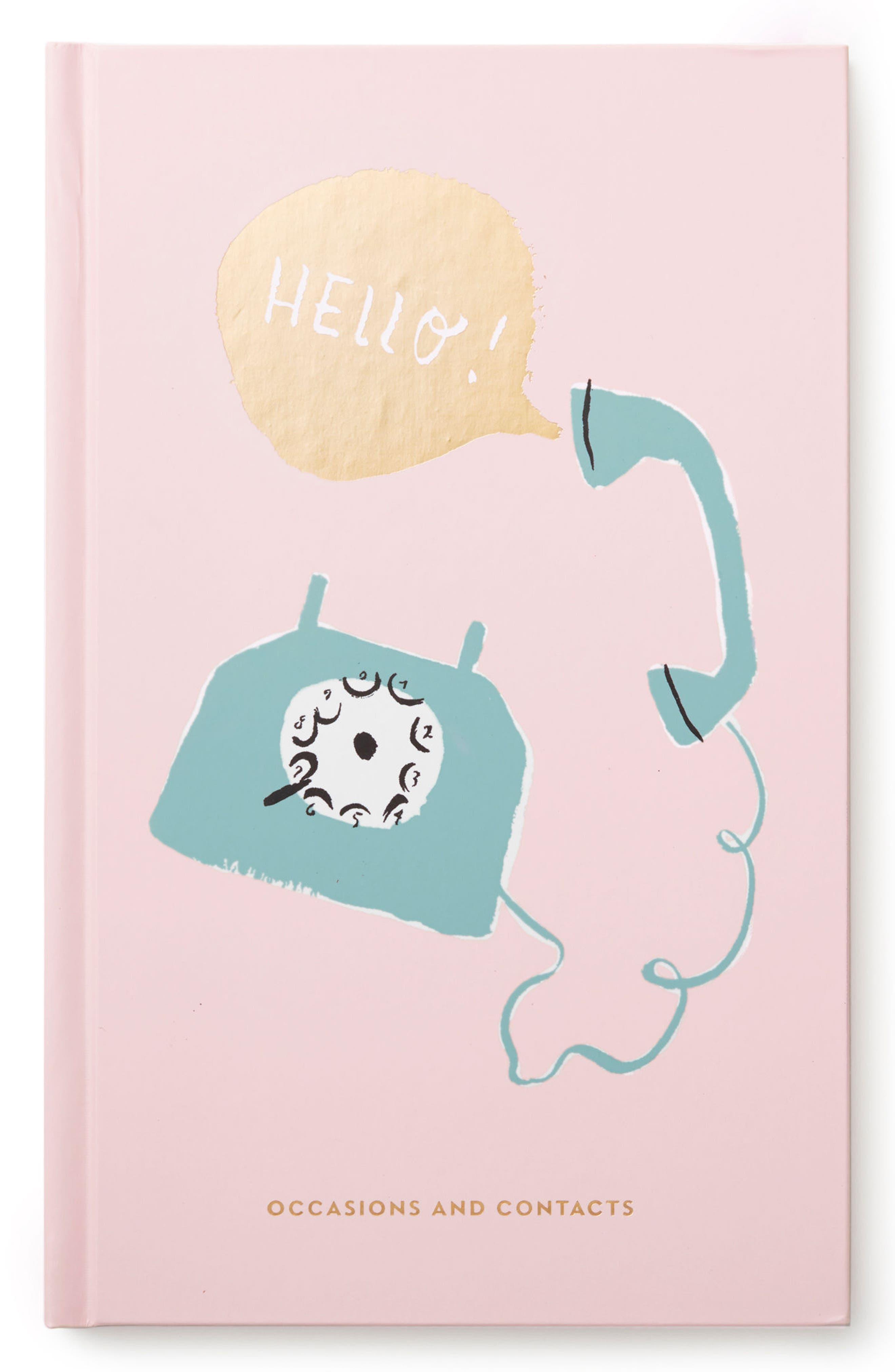 hello address book,                             Main thumbnail 1, color,                             Pink