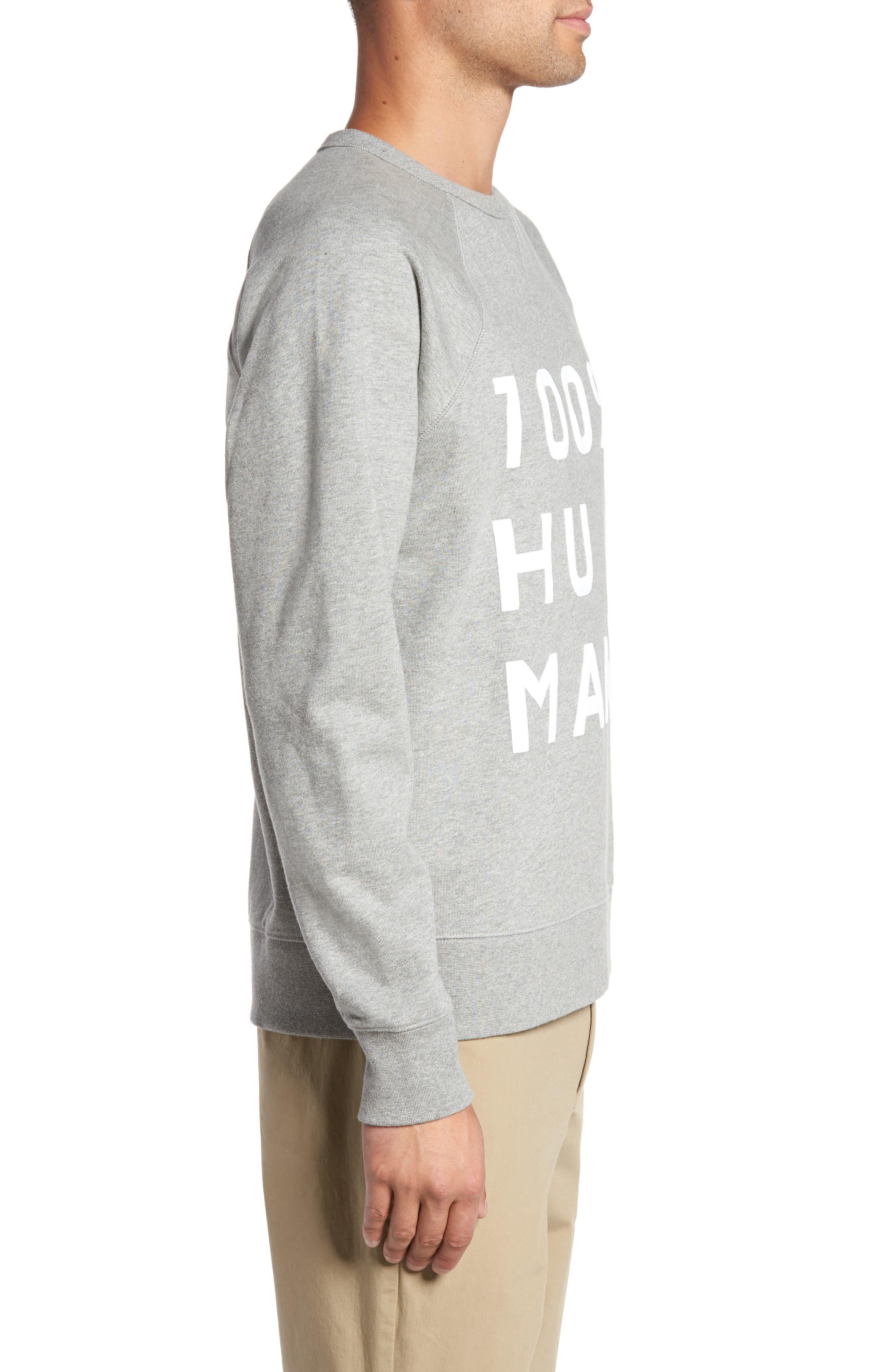 Alternate Image 3  - Everlane The 100% Human Unisex French Terry Sweatshirt