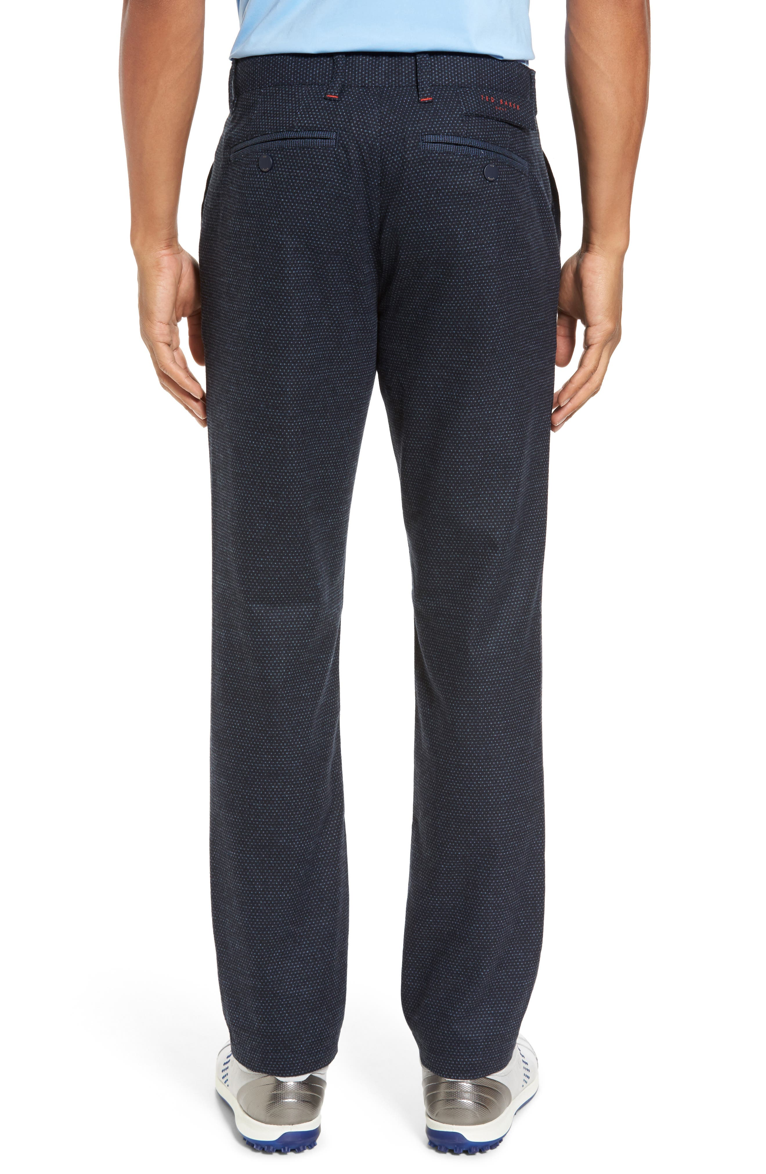 Water Resistant Golf Trousers,                             Alternate thumbnail 2, color,                             Navy