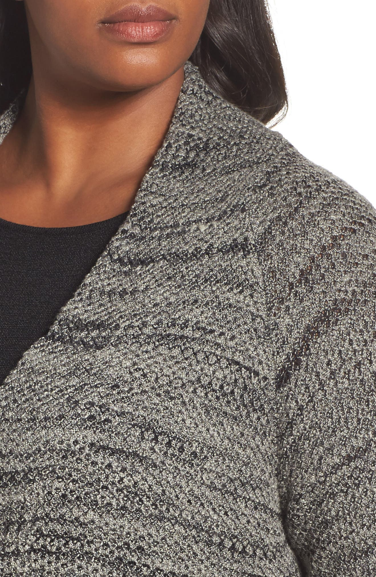 Thick & Thin Cardigan,                             Alternate thumbnail 4, color,                             Lichen