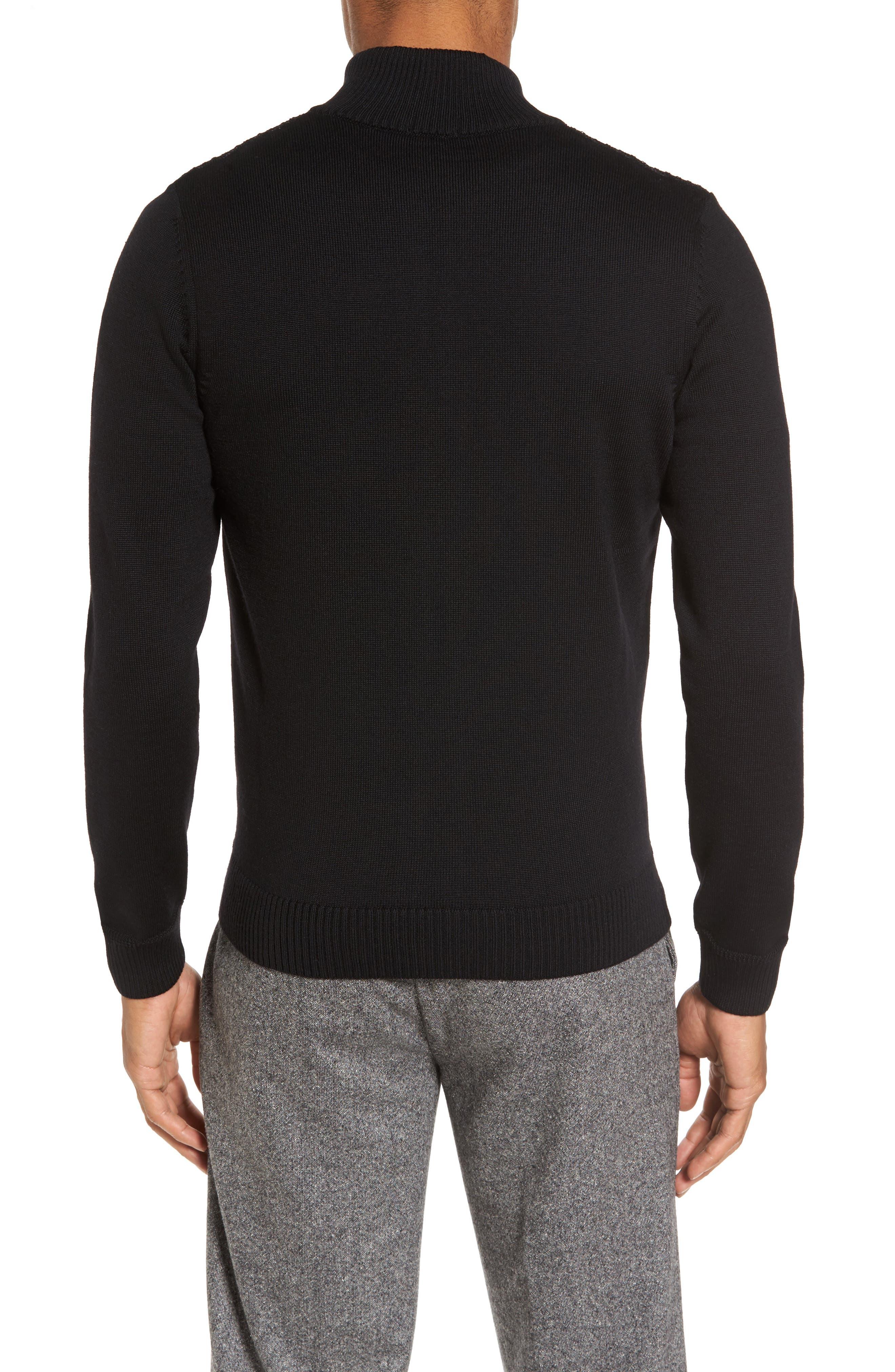 Alternate Image 2  - BOSS Bacco Full Zip Wool Sweater Jacket