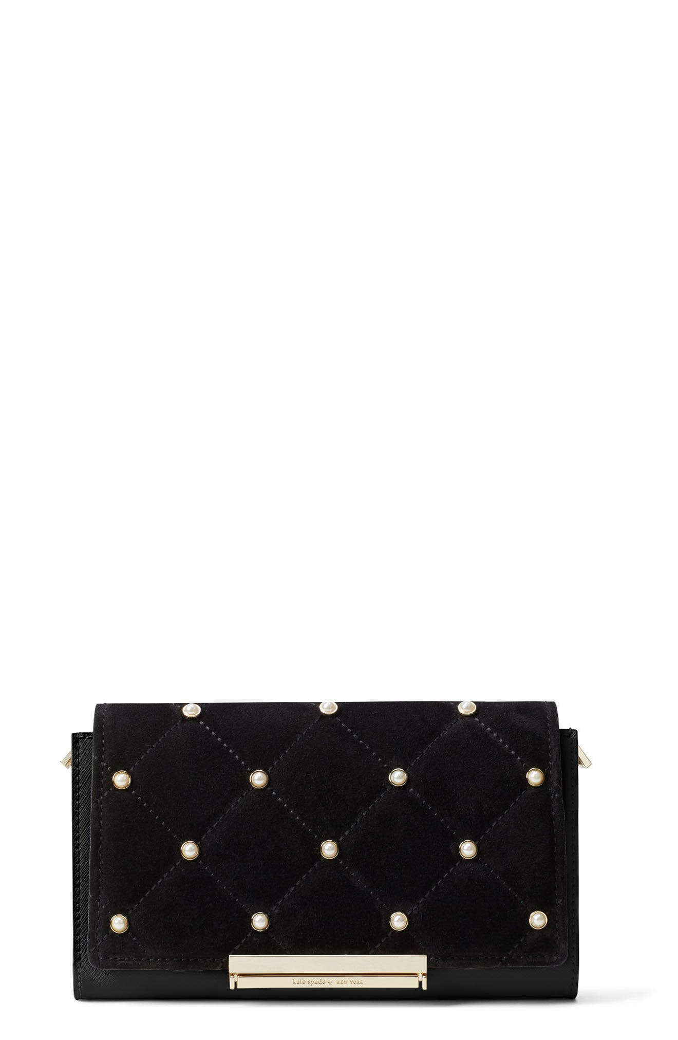 Alternate Image 3  - kate spade new york make it mine imitation pearl snap-on accent flap