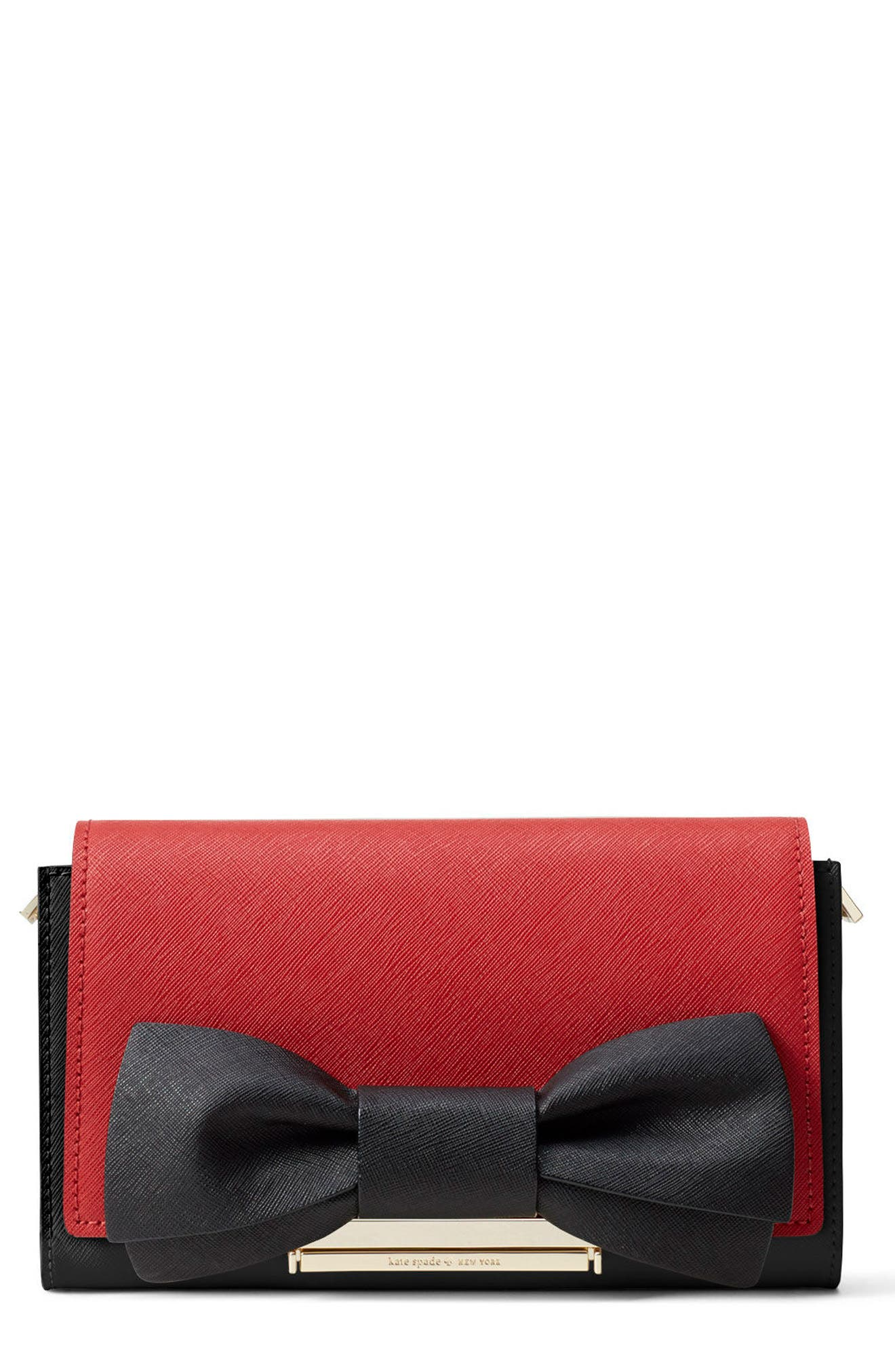 Alternate Image 3  - kate spade new york make it mine leather bow snap-on accent flap
