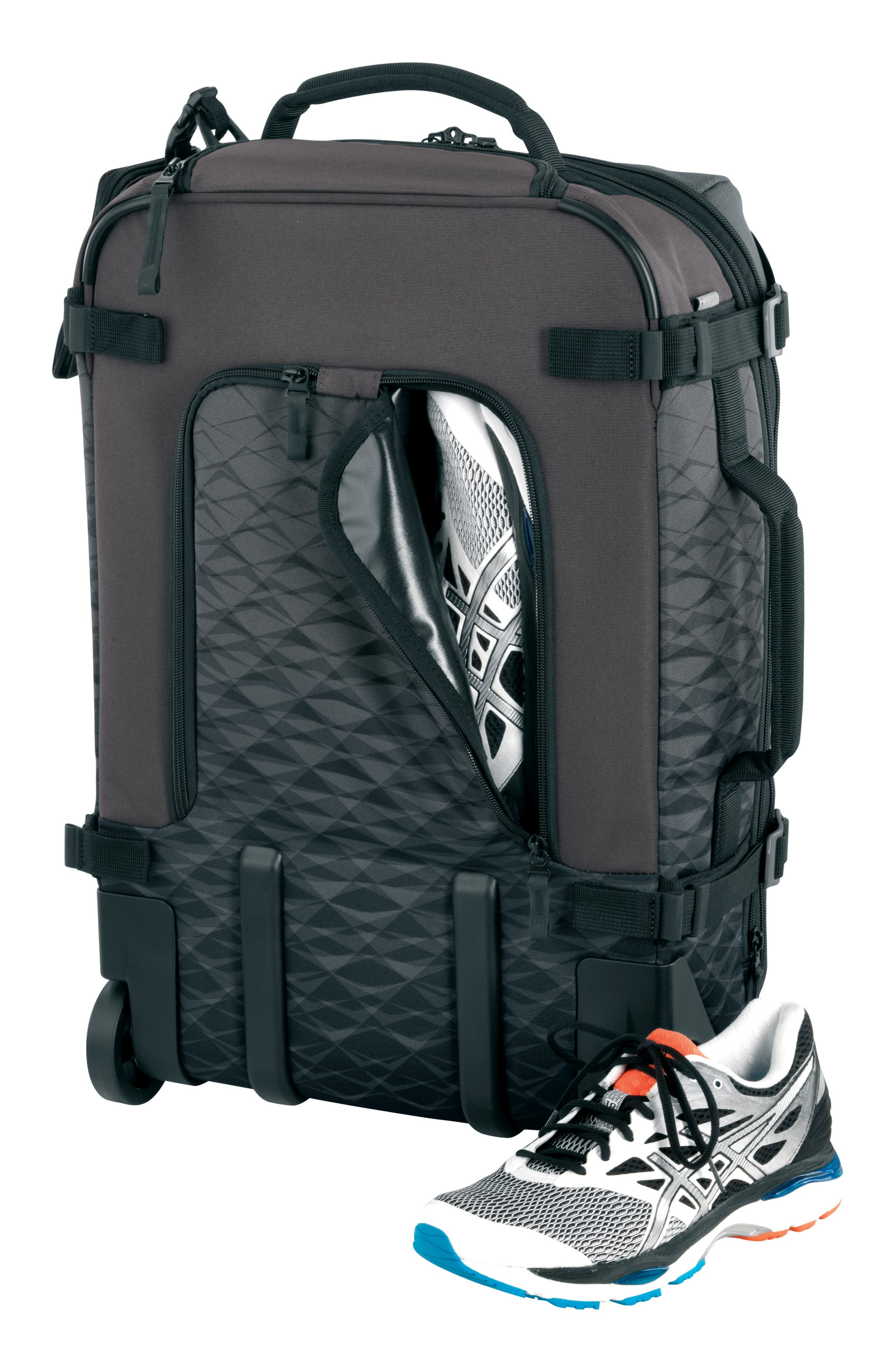 VX Touring 22-Inch Carry-On,                             Alternate thumbnail 3, color,                             Anthracite