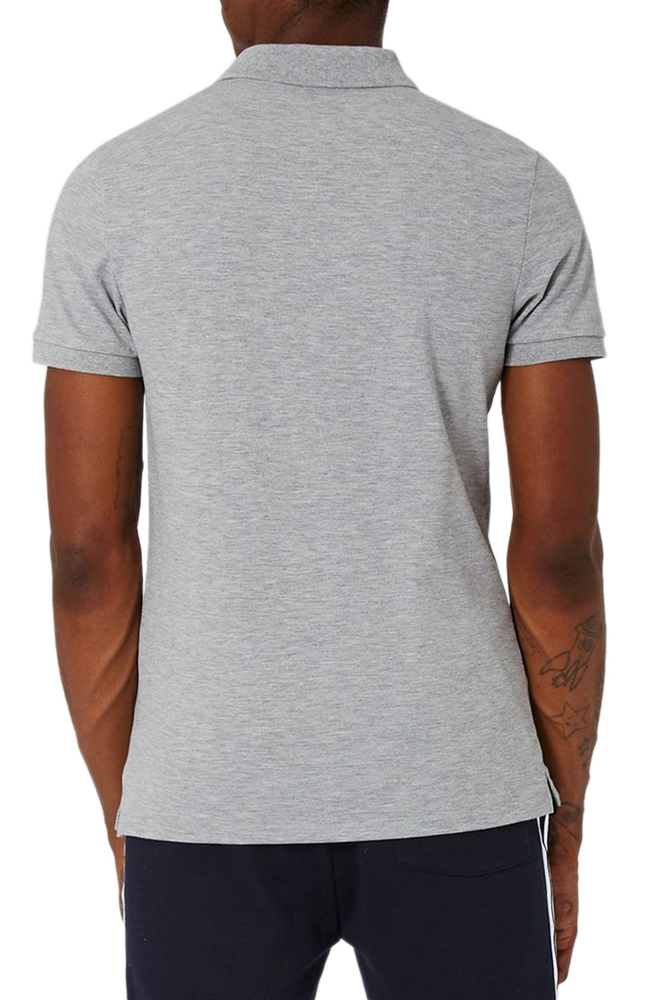 Alternate Image 2  - Topman Muscle Fit Polo