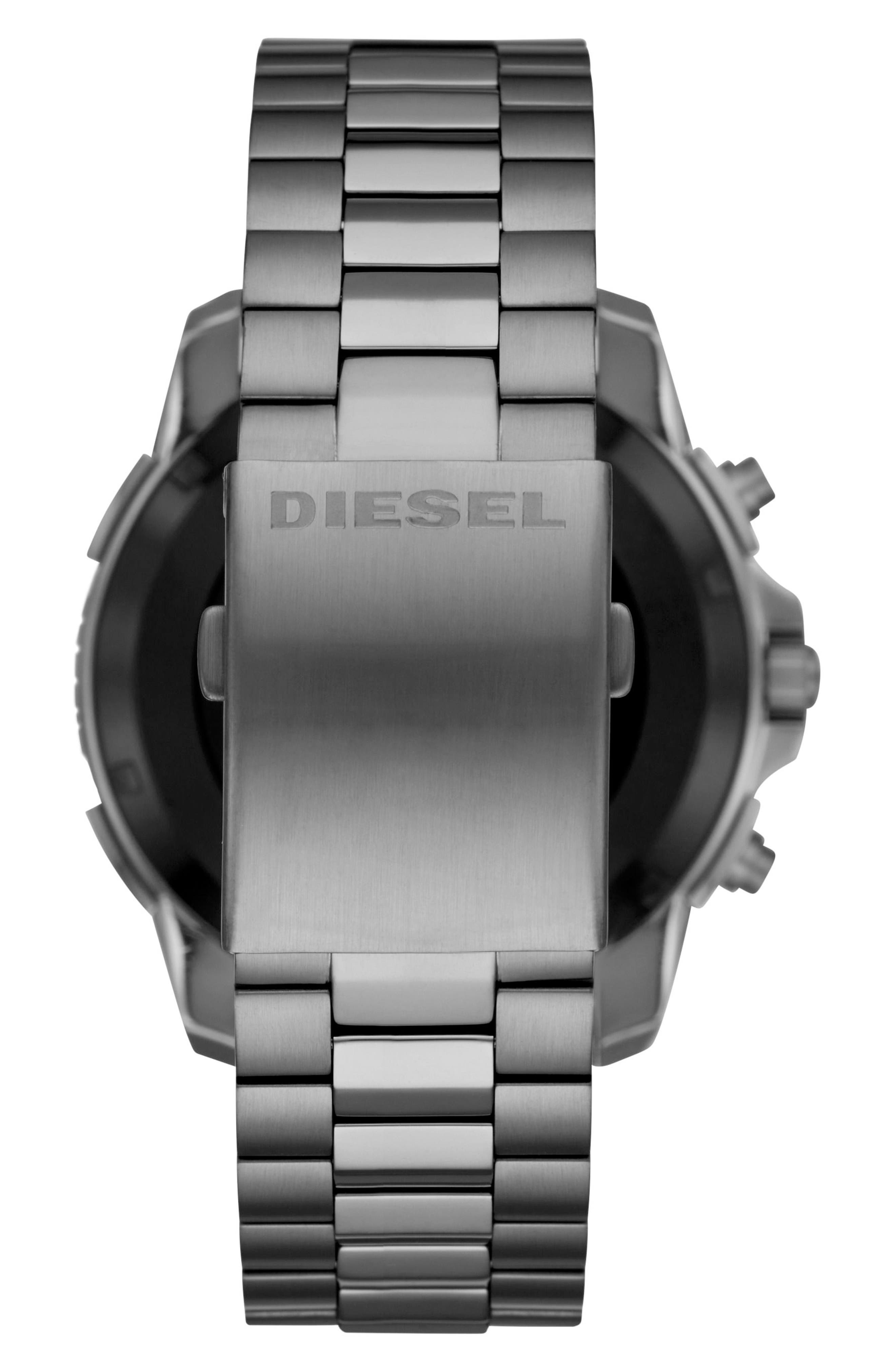 Alternate Image 2  - DIESEL® Full Guard Touchscreen Bracelet Smartwatch, 48mm x 54mm