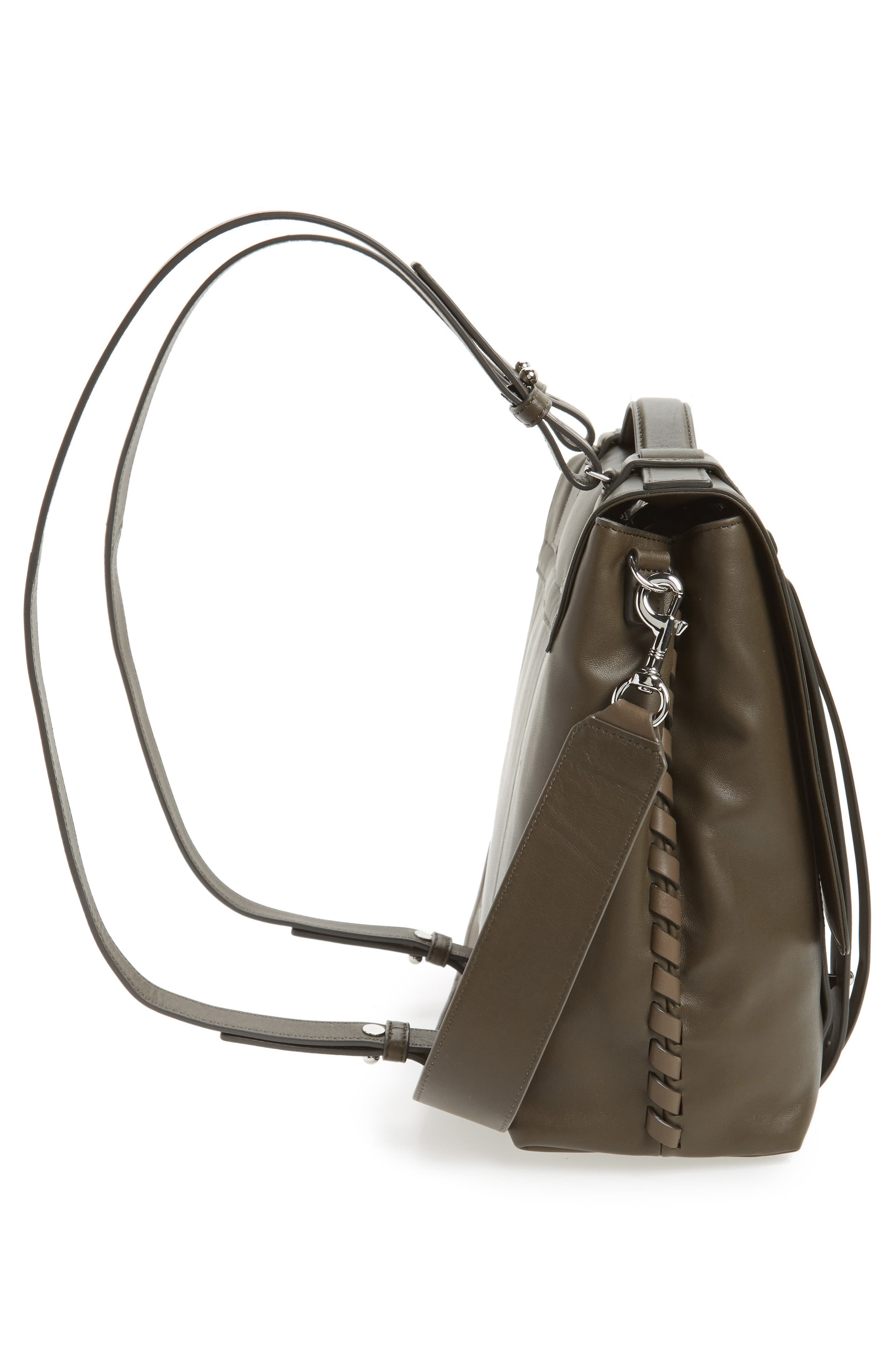Alternate Image 4  - ALLSAINTS Fin Leather Backpack