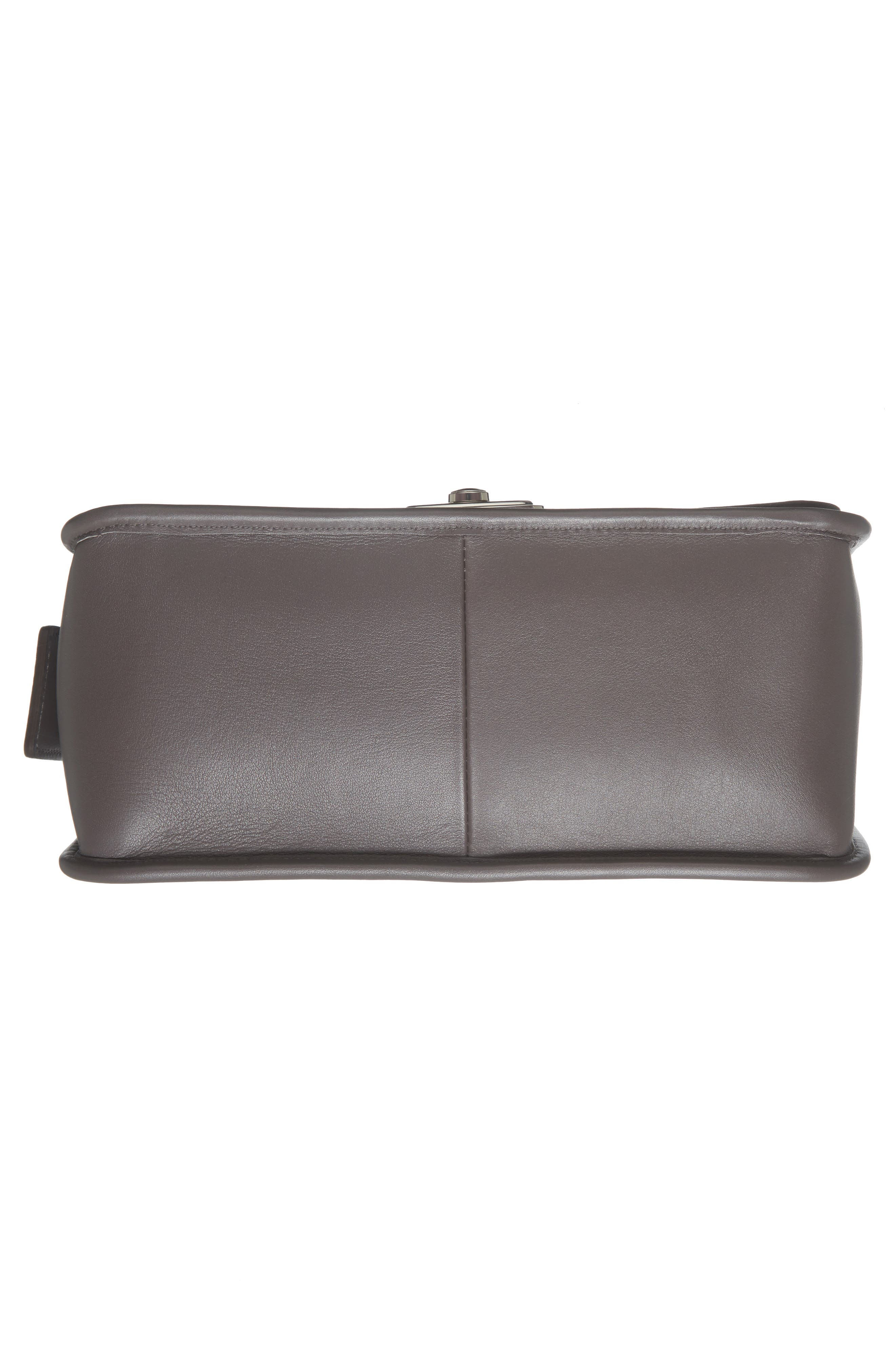 Alternate Image 5  - Longchamp Mademoiselle Calfskin Leather Crossbody Bag