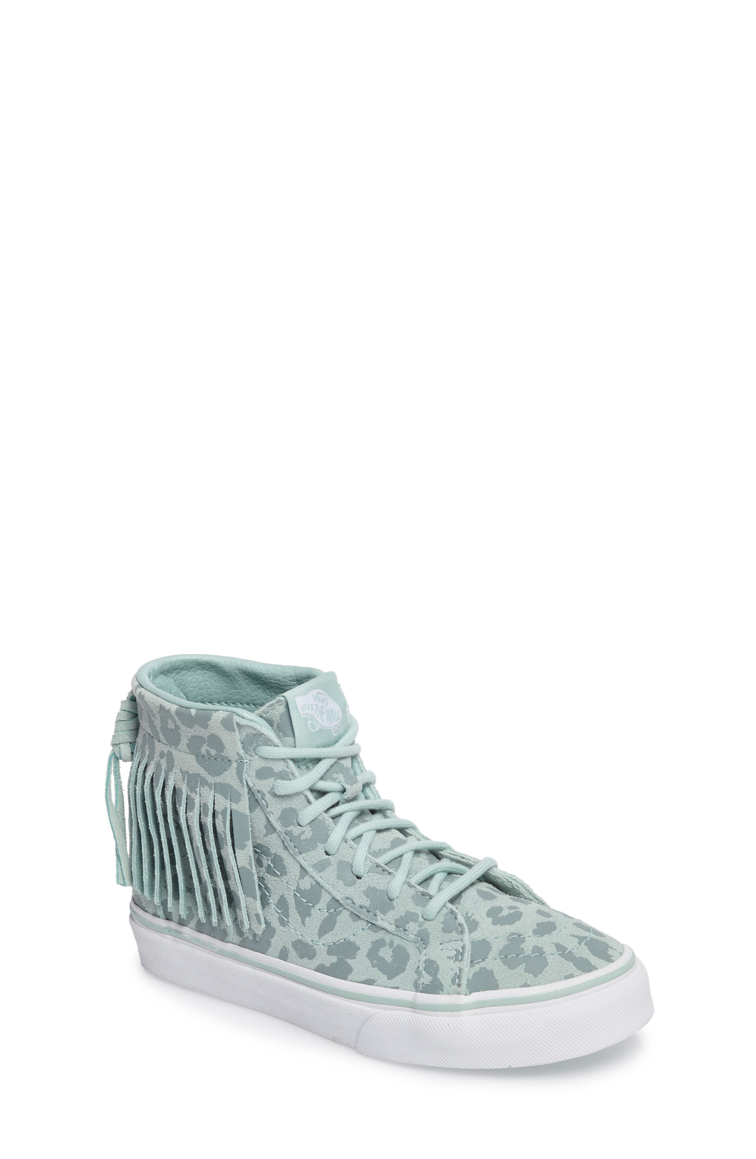 Chukka V Moc Sneaker,                         Main,                         color, Harbor Gray Leopard Suede