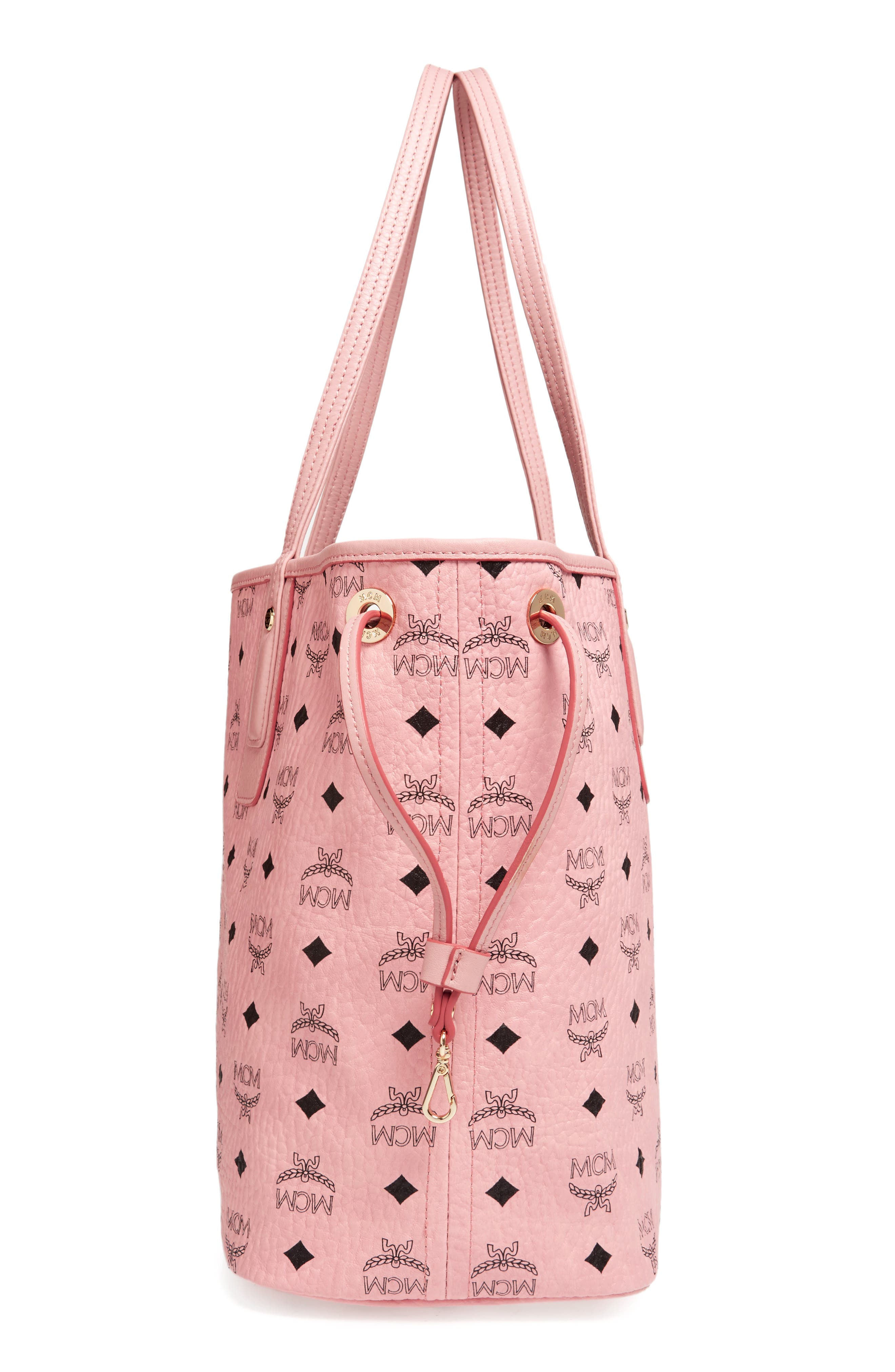 Alternate Image 6  - MCM Medium Liz Reversible Visetos Coated Canvas Shopper