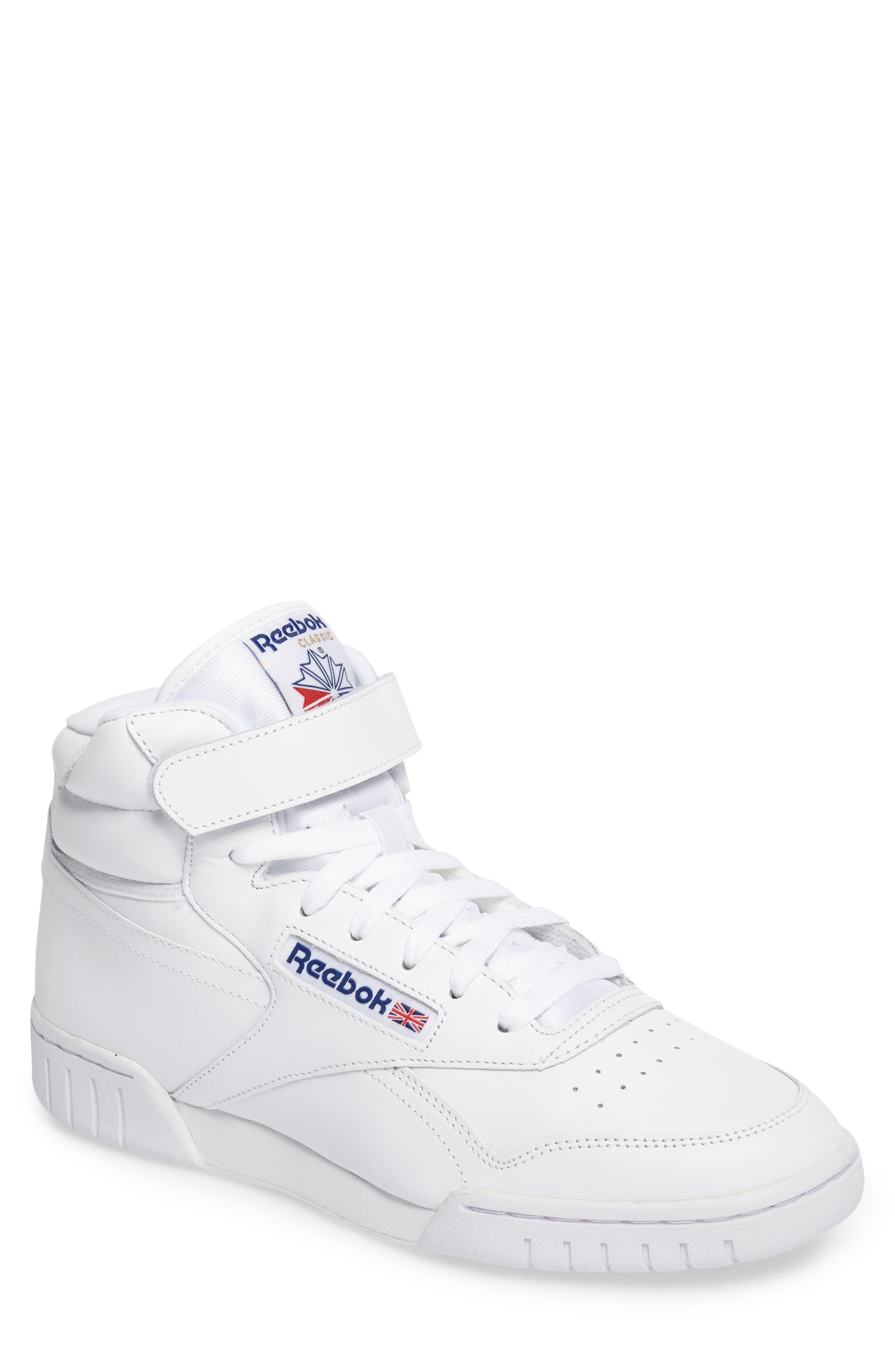 Alternate Image 1 Selected - Reebok Ex-O-Fit Hi Sneaker (Men)