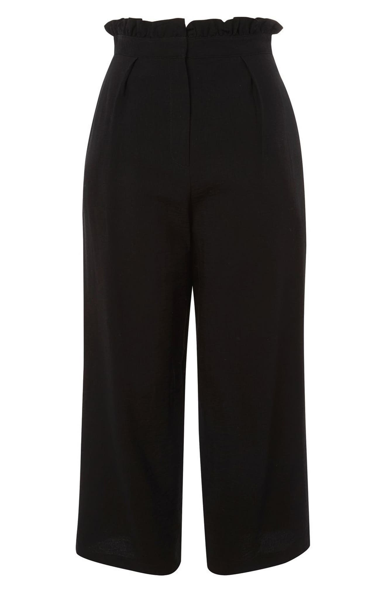 Alternate Image 3  - Topshop Ruffle Waist Trousers