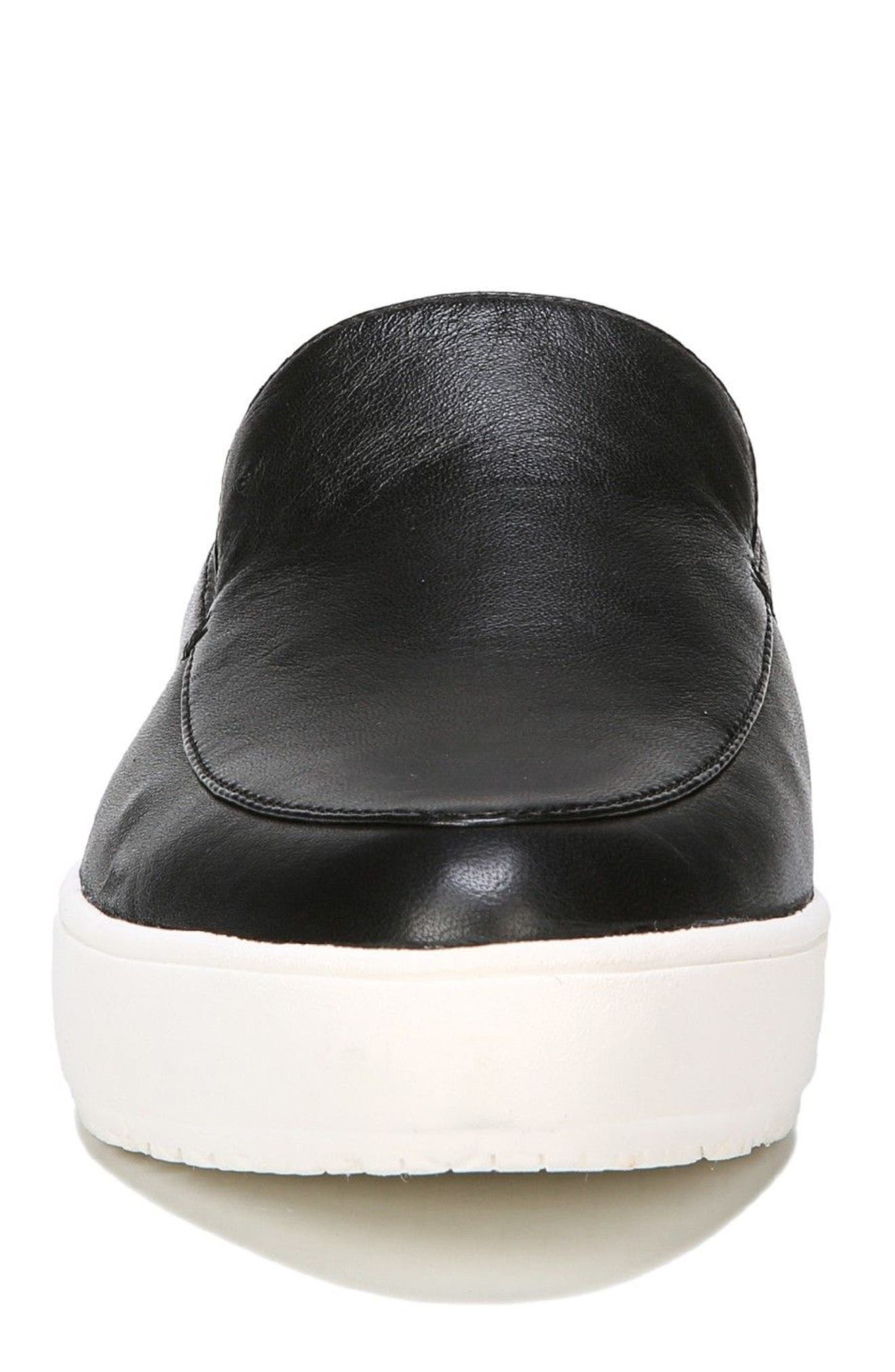 Gia Mule,                             Alternate thumbnail 4, color,                             Black Leather