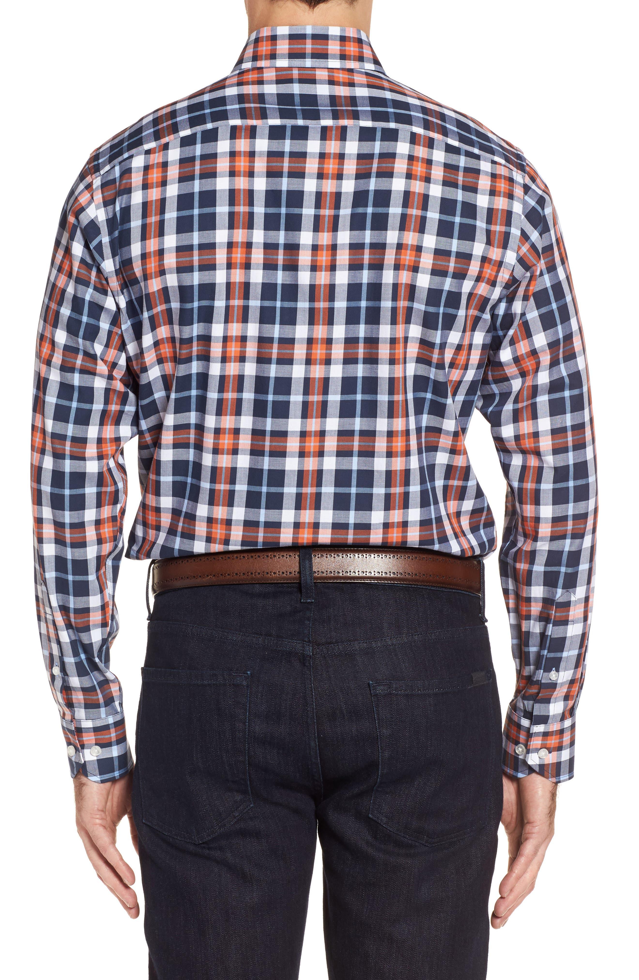 Alternate Image 2  - TailorByrd Chatham Regular Fit Plaid Sport Shirt