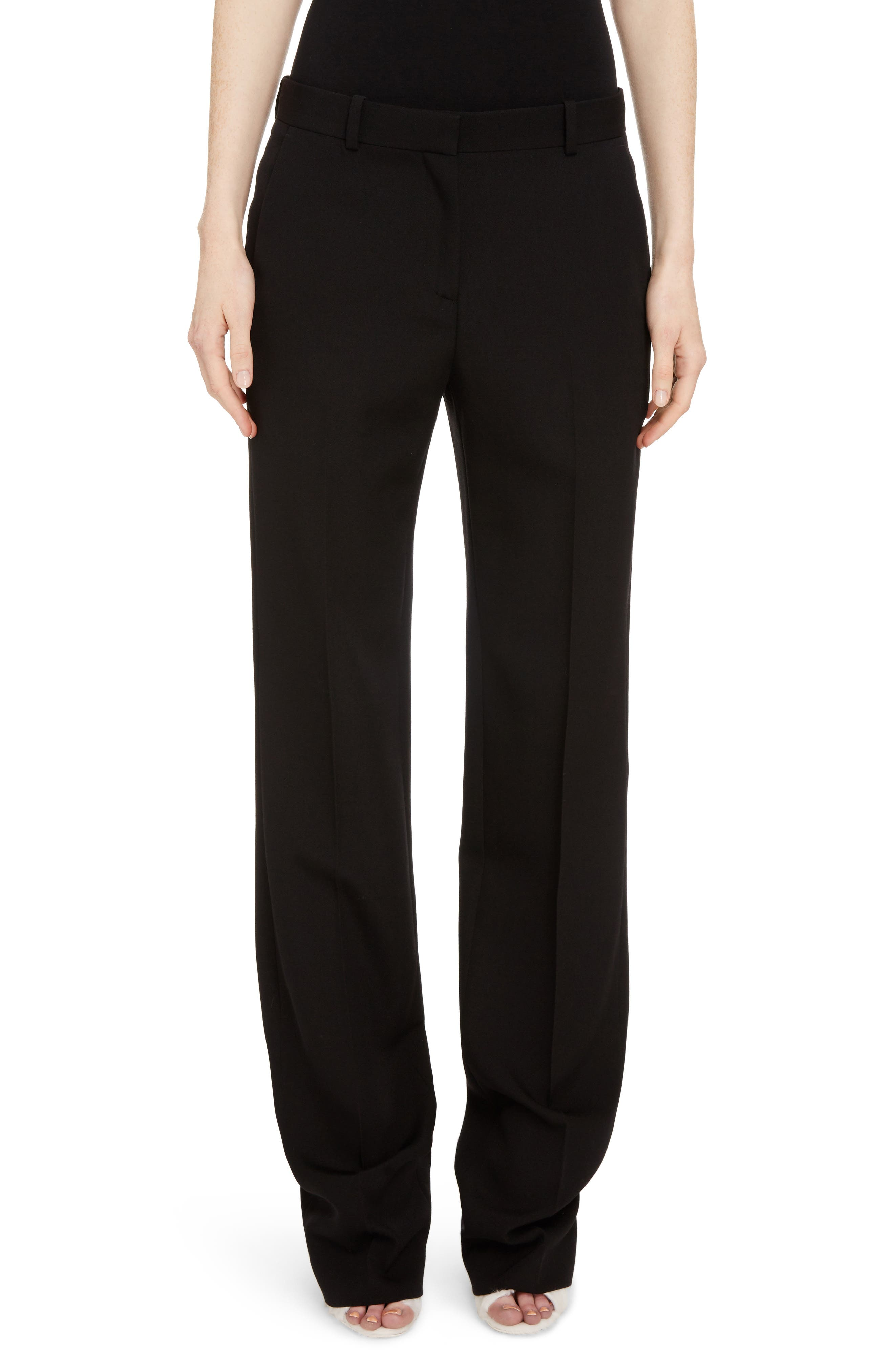 Givenchy Wool Straight Leg Pants