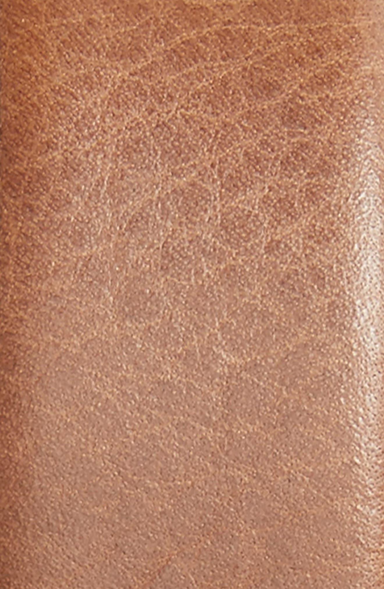 Marlin Leather Belt,                             Alternate thumbnail 2, color,                             Brown