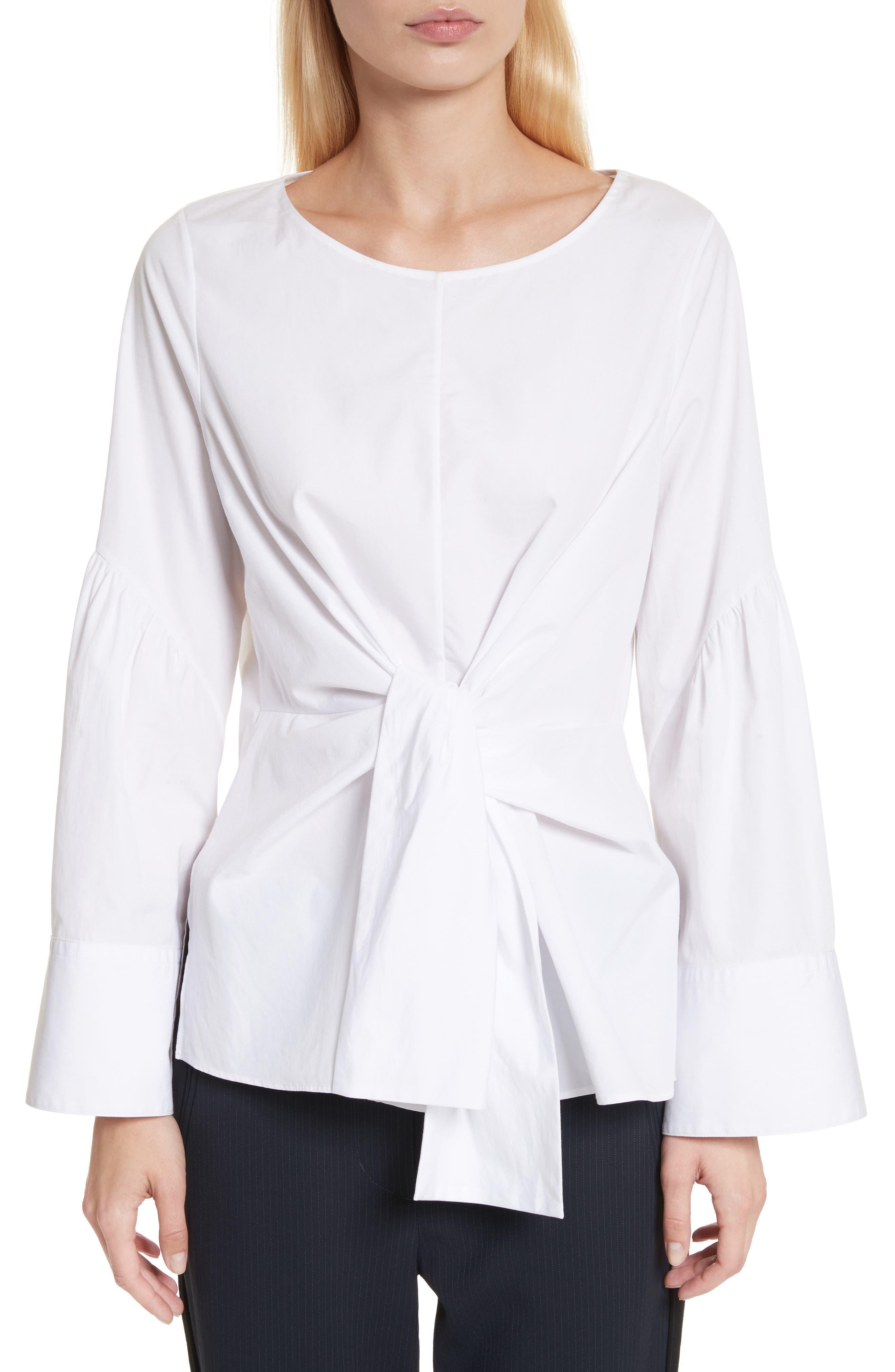 Main Image - 3.1 Phillip Lim Tie Front Shirt
