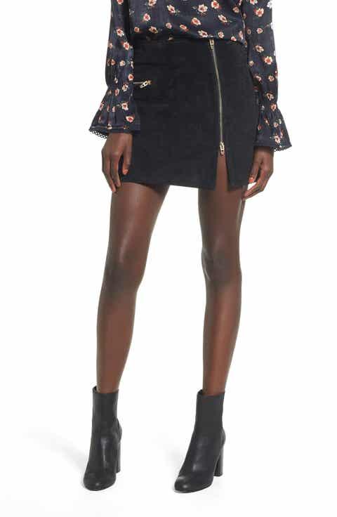 BLANKNYC Suede Miniskirt Cheap
