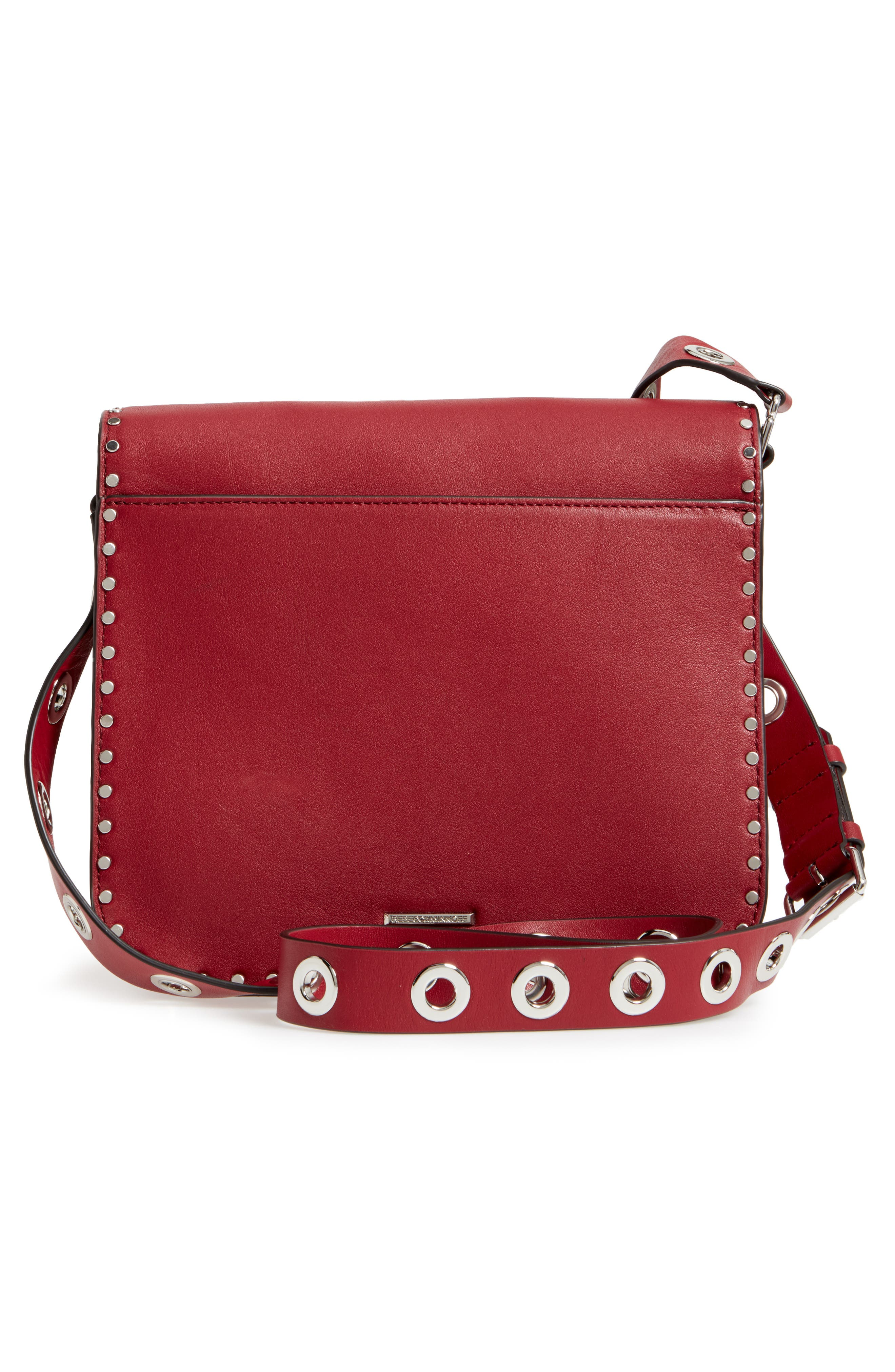 Alternate Image 3  - Rebecca Minkoff Large Midnighter Leather Crossbody Bag