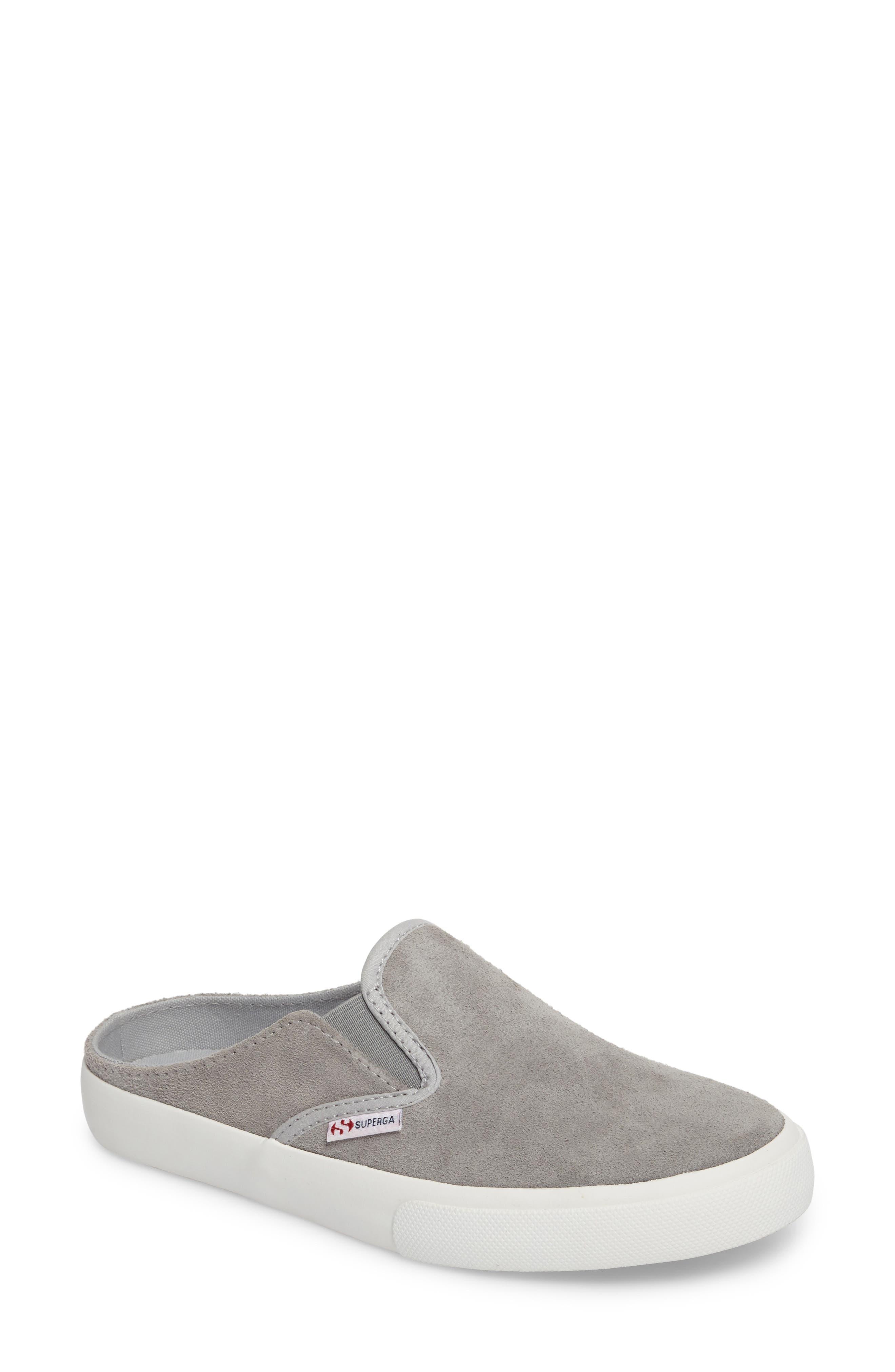Superga Slip-On Mule Sneaker (Women)