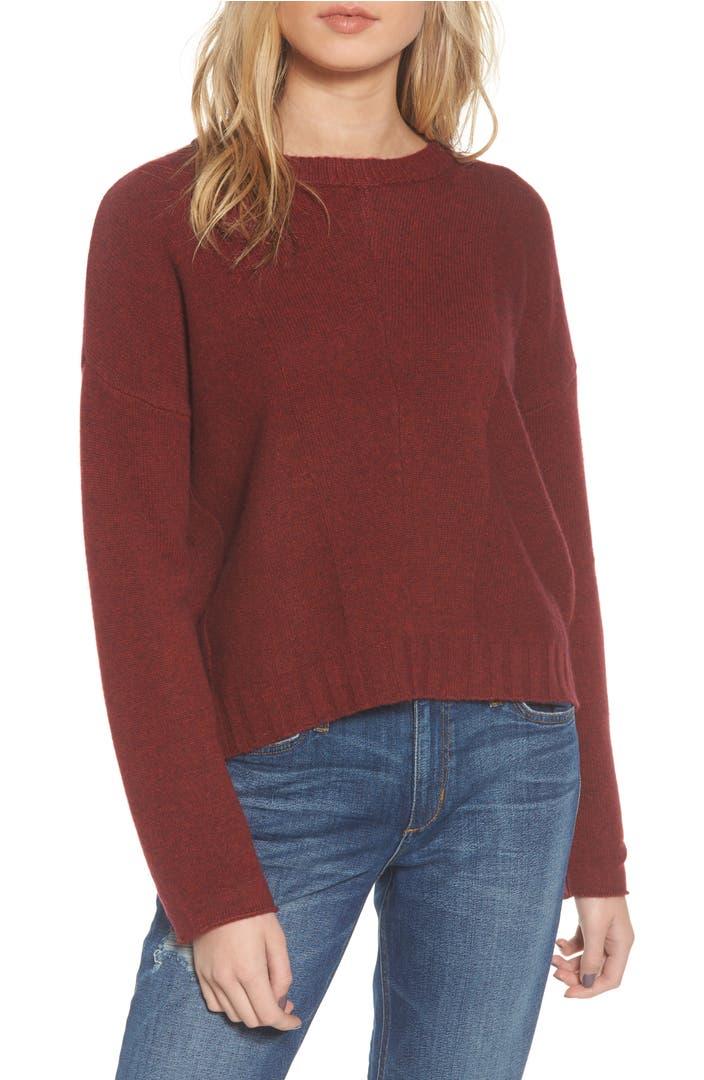 Wool Sweater Grey: Rails Joanna Wool & Cashmere Sweater