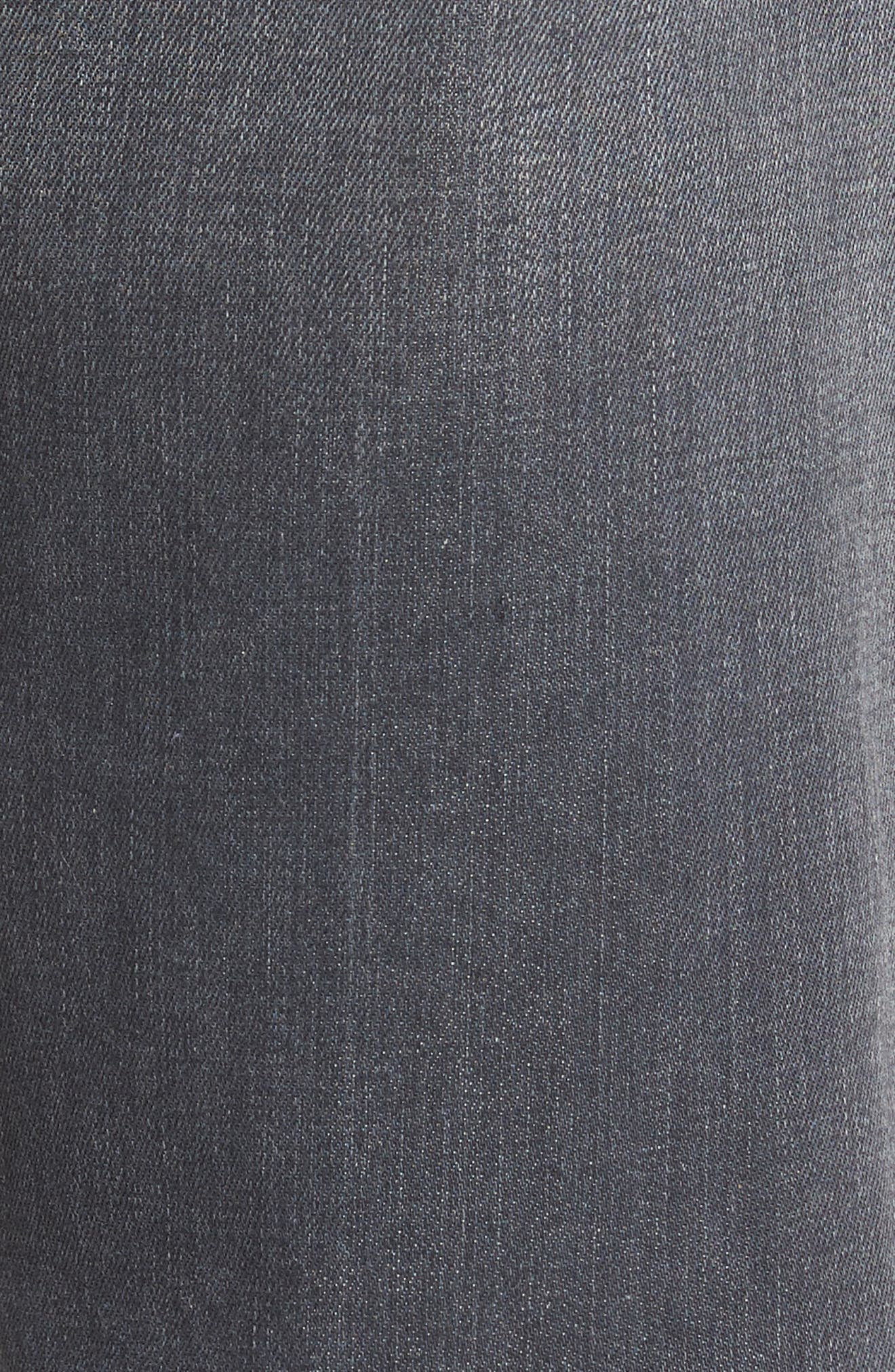 Jimmy Slim Straight Fit Jeans,                             Alternate thumbnail 5, color,                             Steelo Vintage