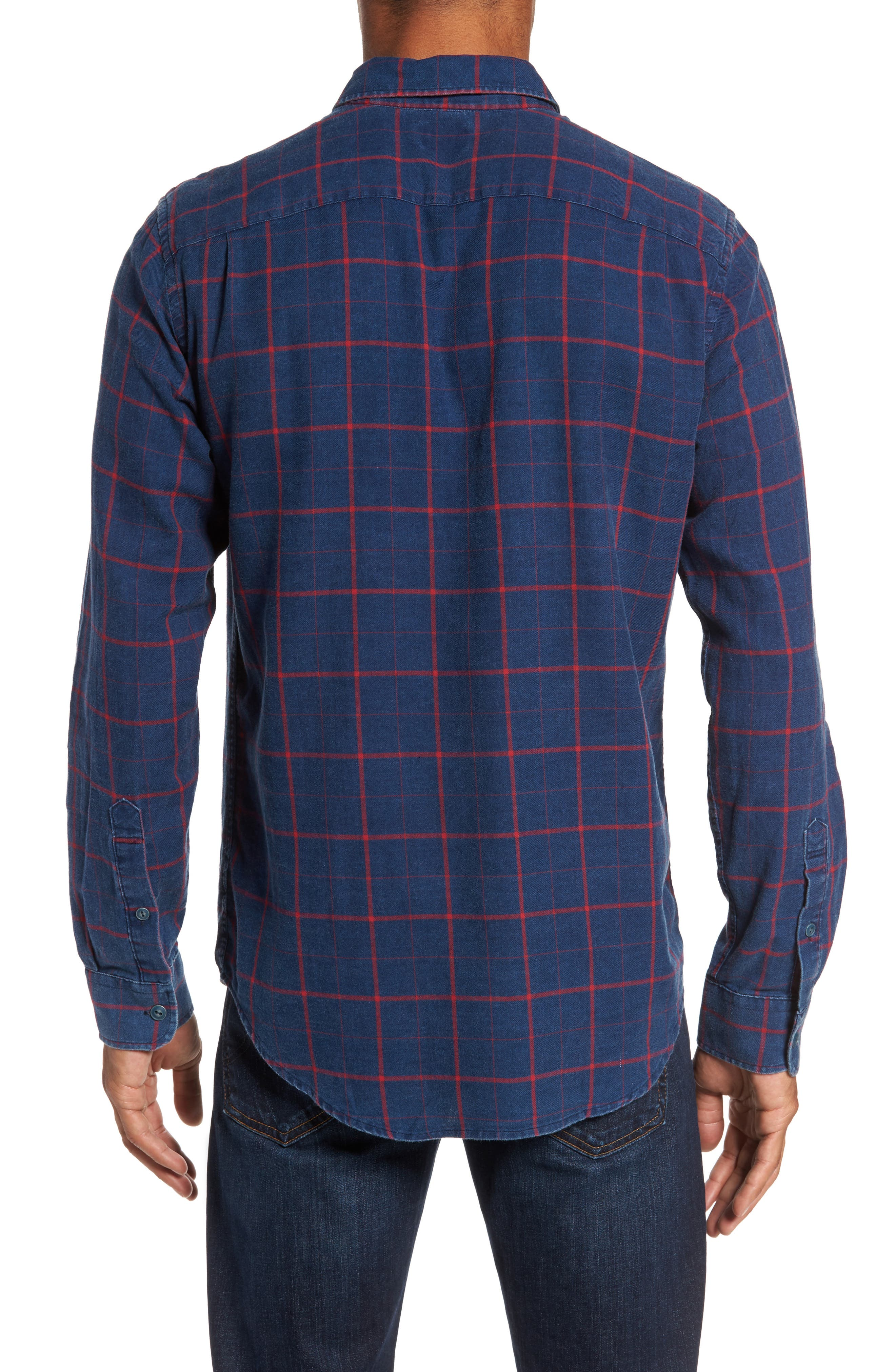 Alternate Image 2  - Faherty Check Sport Shirt